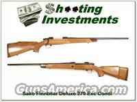 Sako Finnbear Deluxe 270!  Guns > Rifles > Sako Rifles > Other Bolt Action