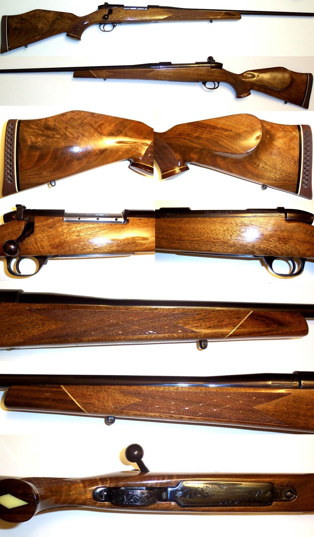 Weatherby Mark V 257 Custom Shop gun  Guns > Rifles > Weatherby Rifles > Sporting