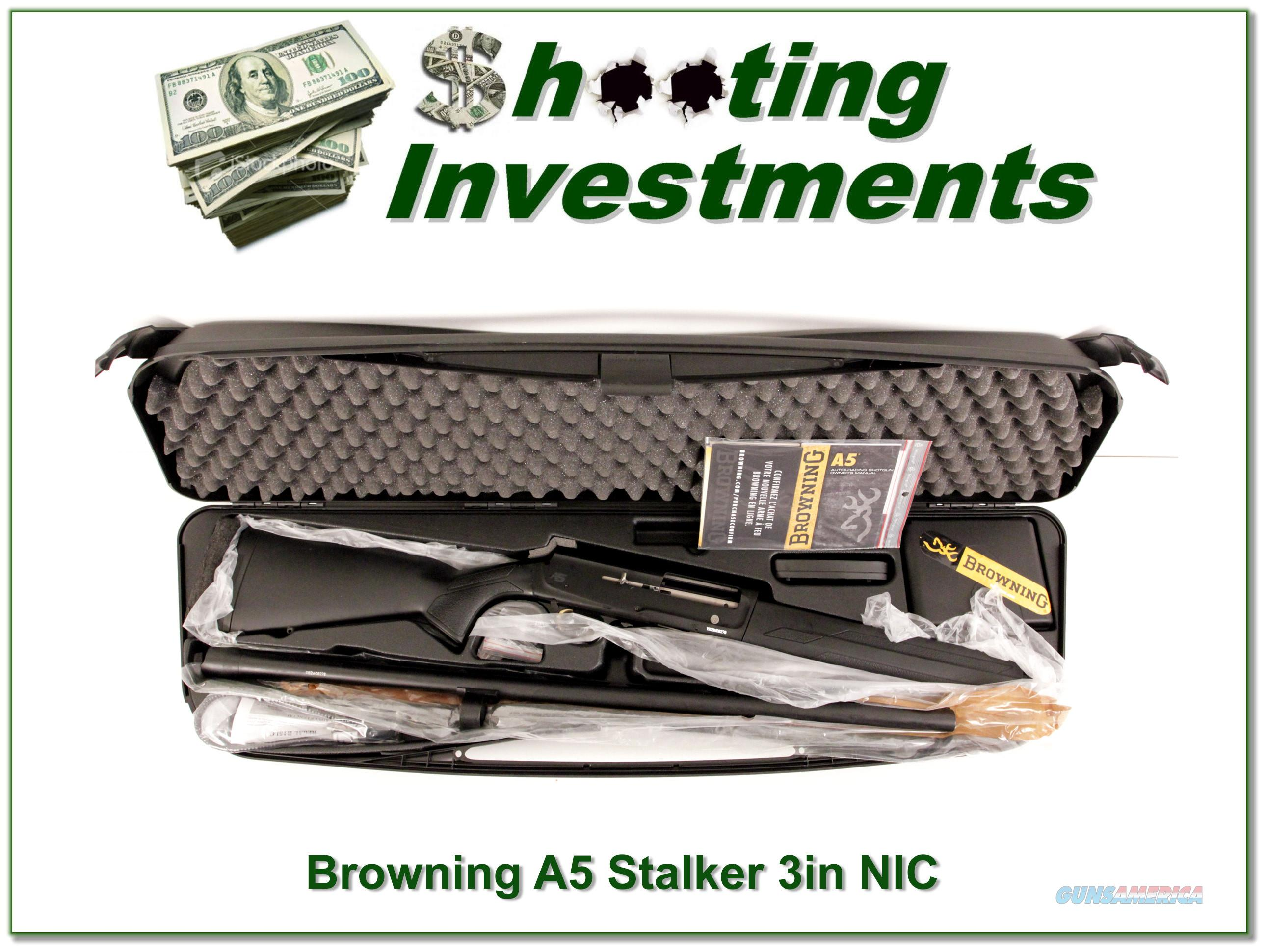 Browning A5 Stalker as new 30in in case   Guns > Shotguns > Browning Shotguns > Autoloaders > Hunting