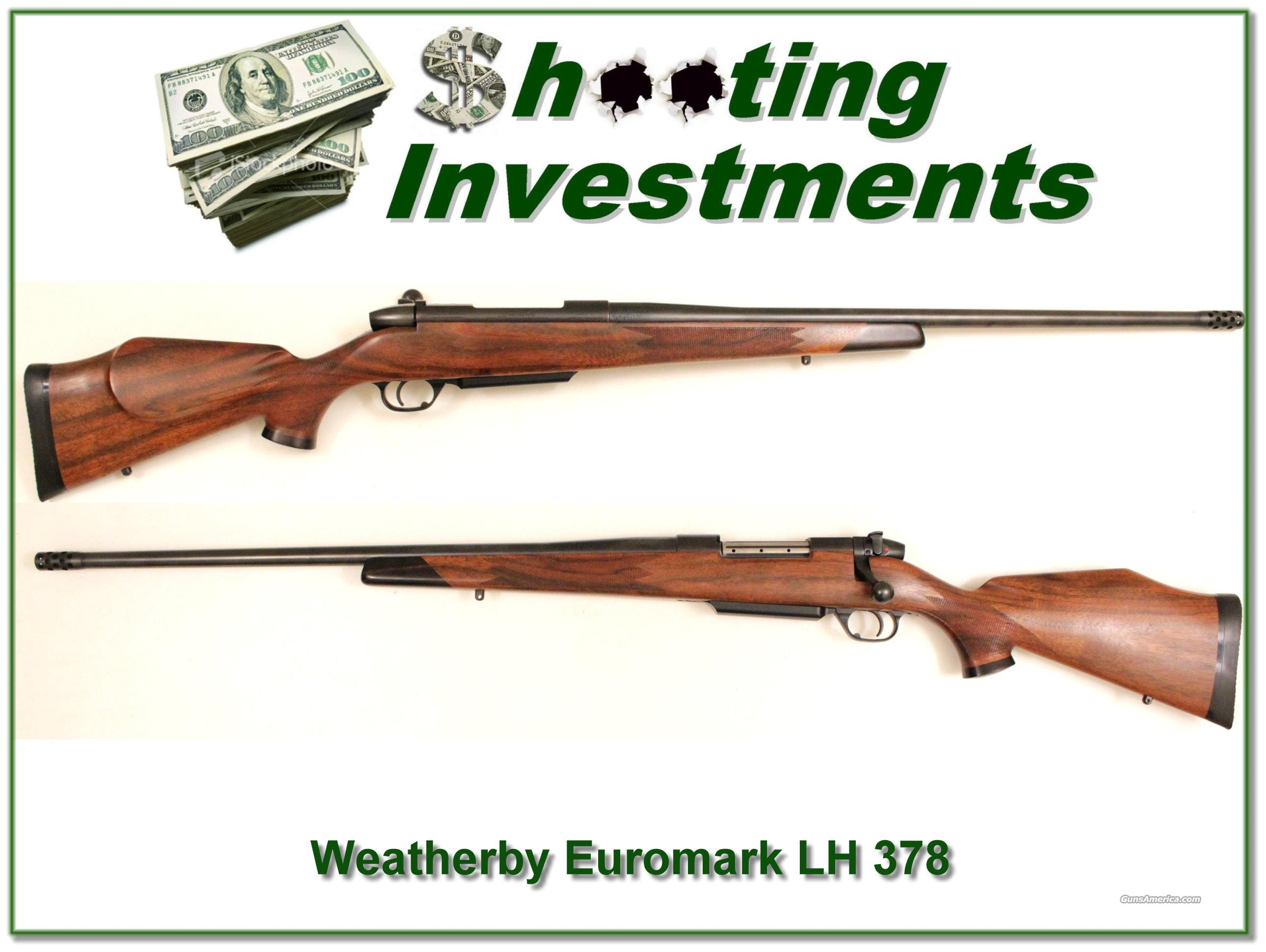 Weatherby Mark V Euromark LN 378 Wthy Mag  Guns > Rifles > Weatherby Rifles > Sporting