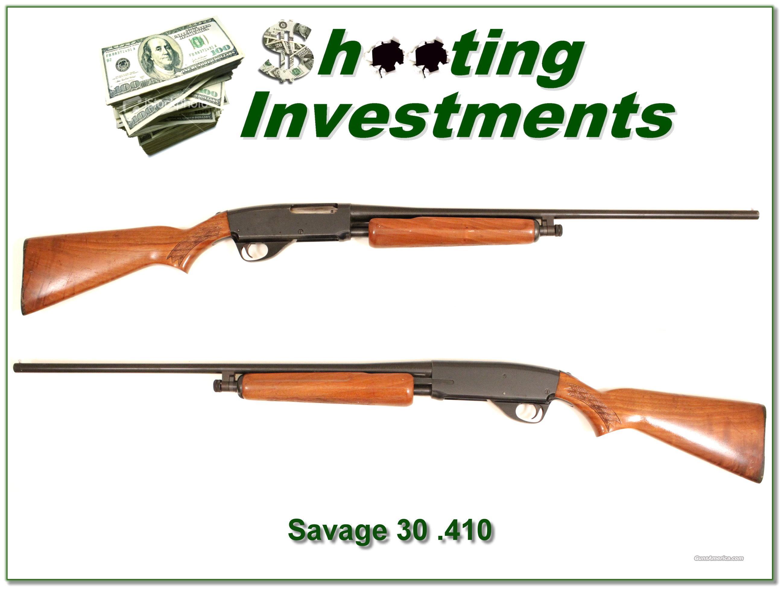 Savage Model 30 410 Gauge Very Good Condition!  Guns > Shotguns > Savage Shotguns