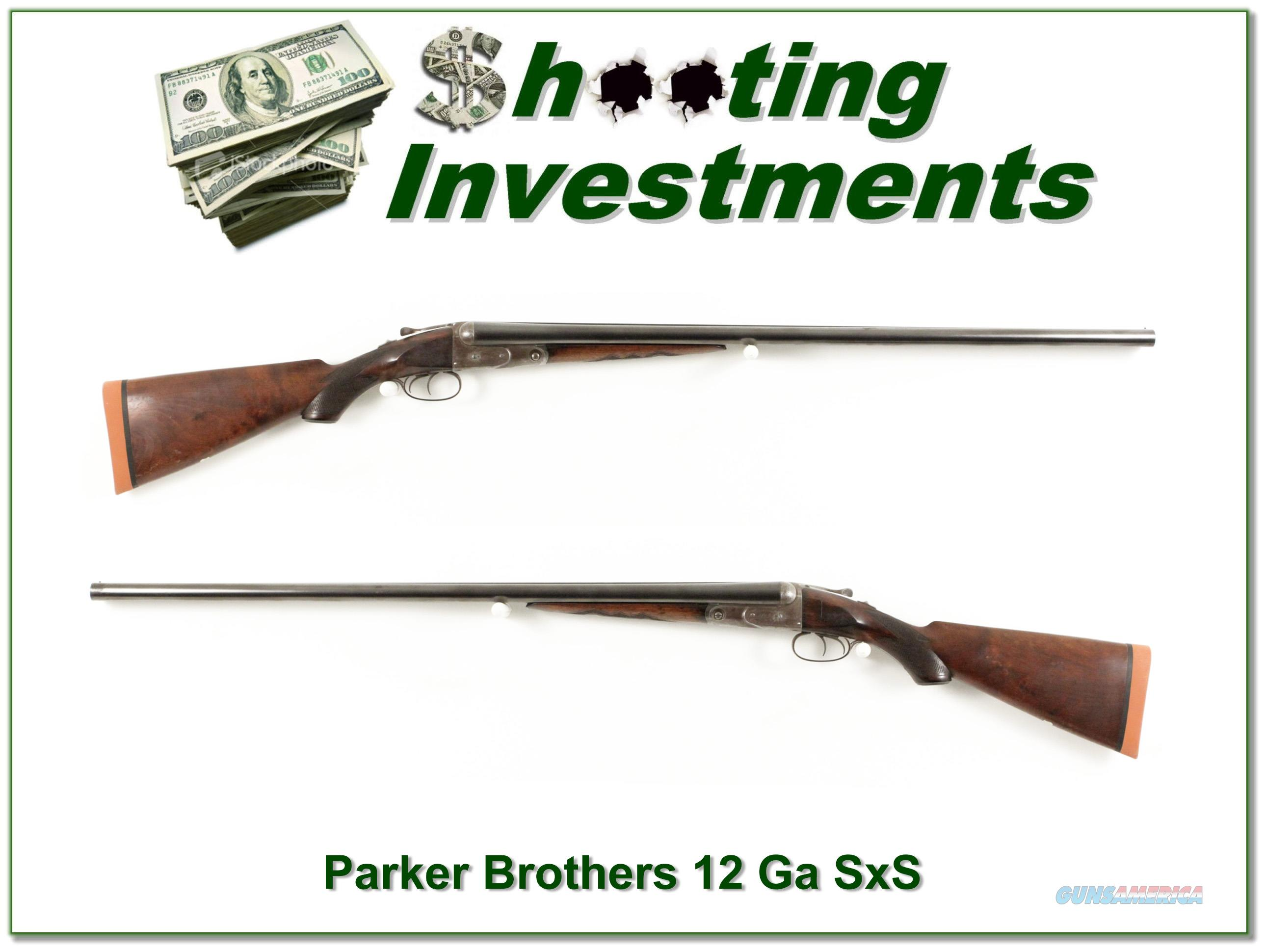 Parker Brothers Grade 2 1891 made 12 gauge  Guns > Shotguns > Parker Shotguns