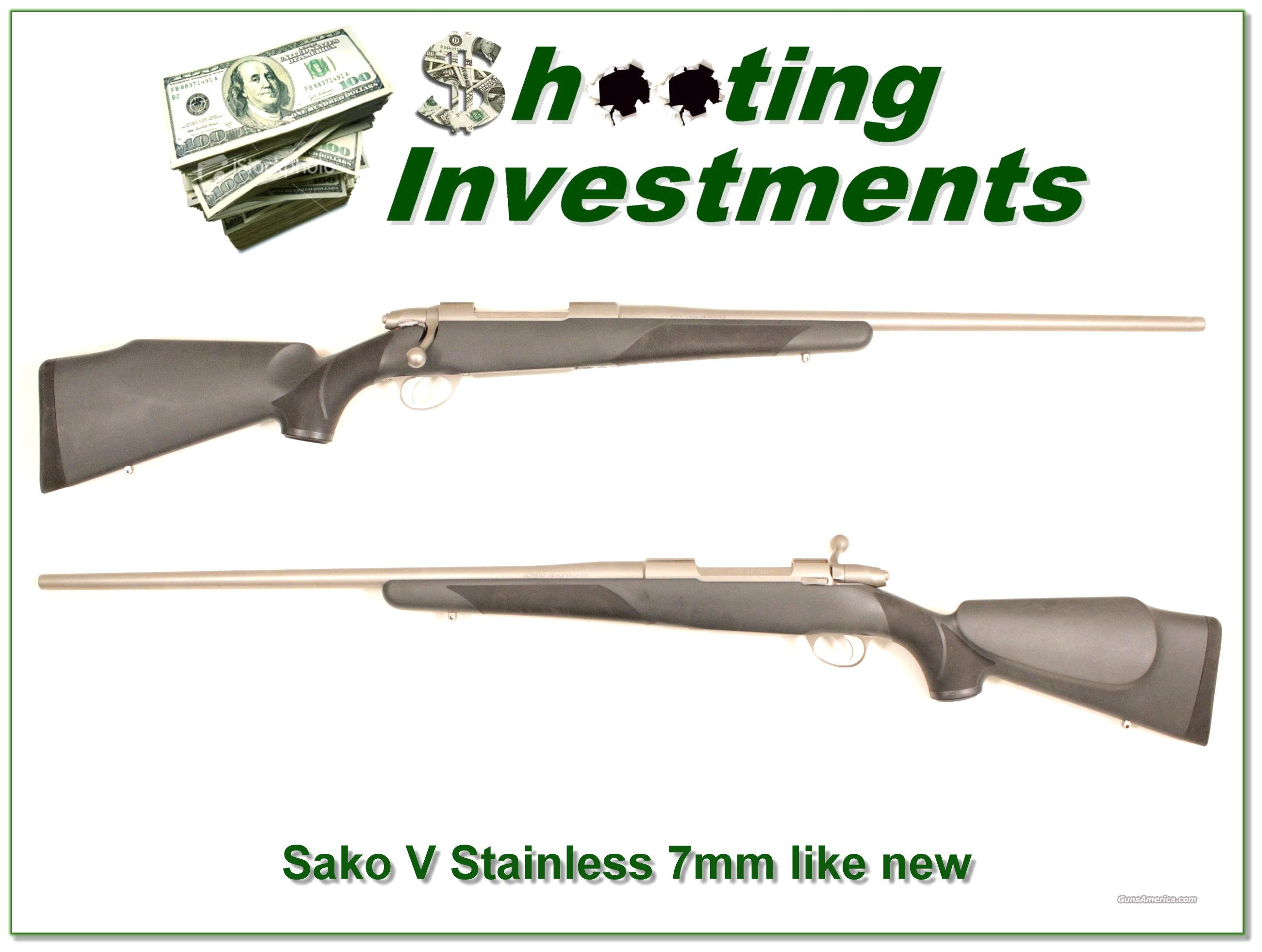 Sako V Stainless Steel 7mm Rem Mag  Guns > Rifles > Sako Rifles > Other Bolt Action