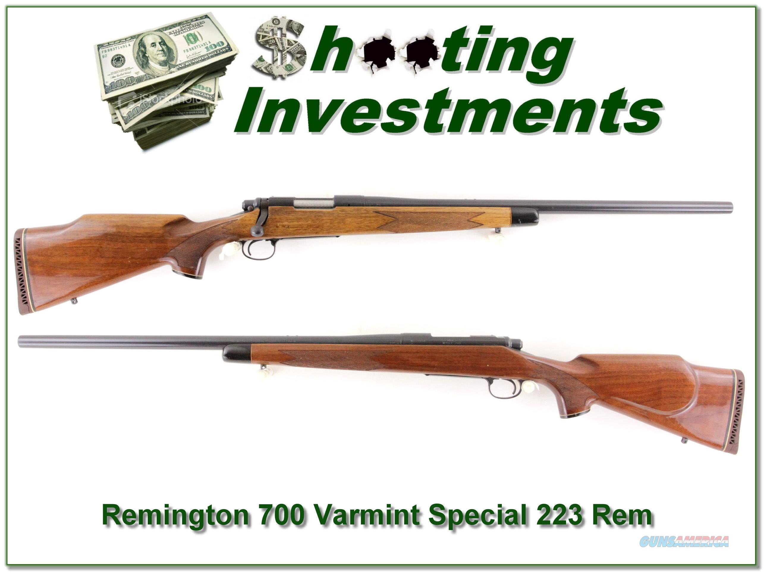 Remington 700 Varmint Special 223 Rem Heavy Barrel  Guns > Rifles > Remington Rifles - Modern > Model 700 > Sporting