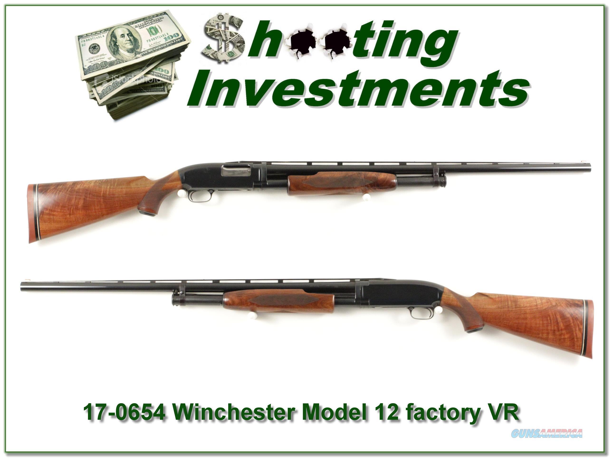 Winchester Model 12 Trap 1962 Factory Vent Rib!  Guns > Shotguns > Winchester Shotguns - Modern > Pump Action > Trap/Skeet