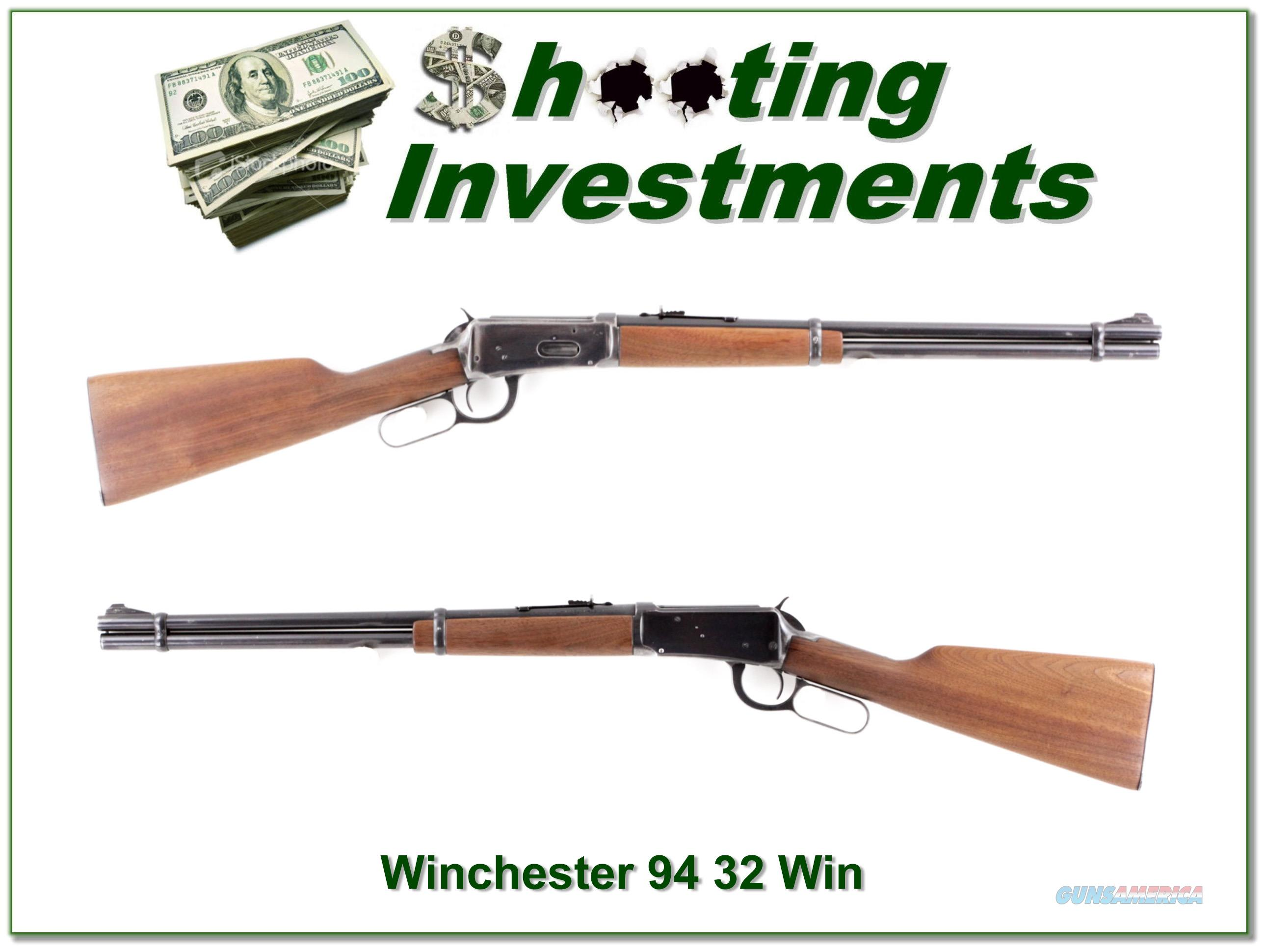 Winchester 94 32 Special made in 1952  Guns > Rifles > Winchester Rifles - Modern Lever > Model 94 > Pre-64