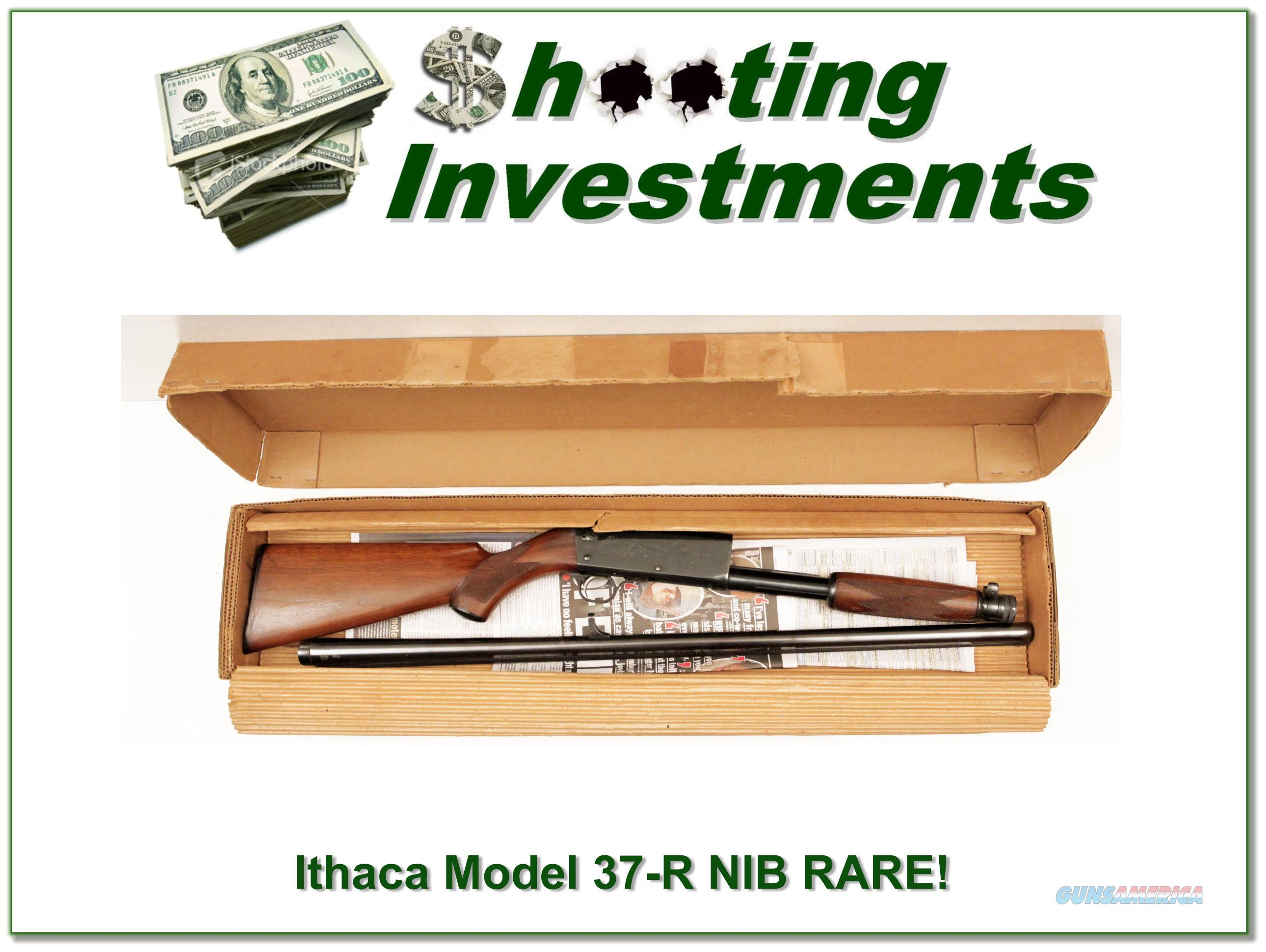 Ithaca Model 37-R 12 Gauge NIB Unfired Pre War RARE!  Guns > Shotguns > Ithaca Shotguns > Pump