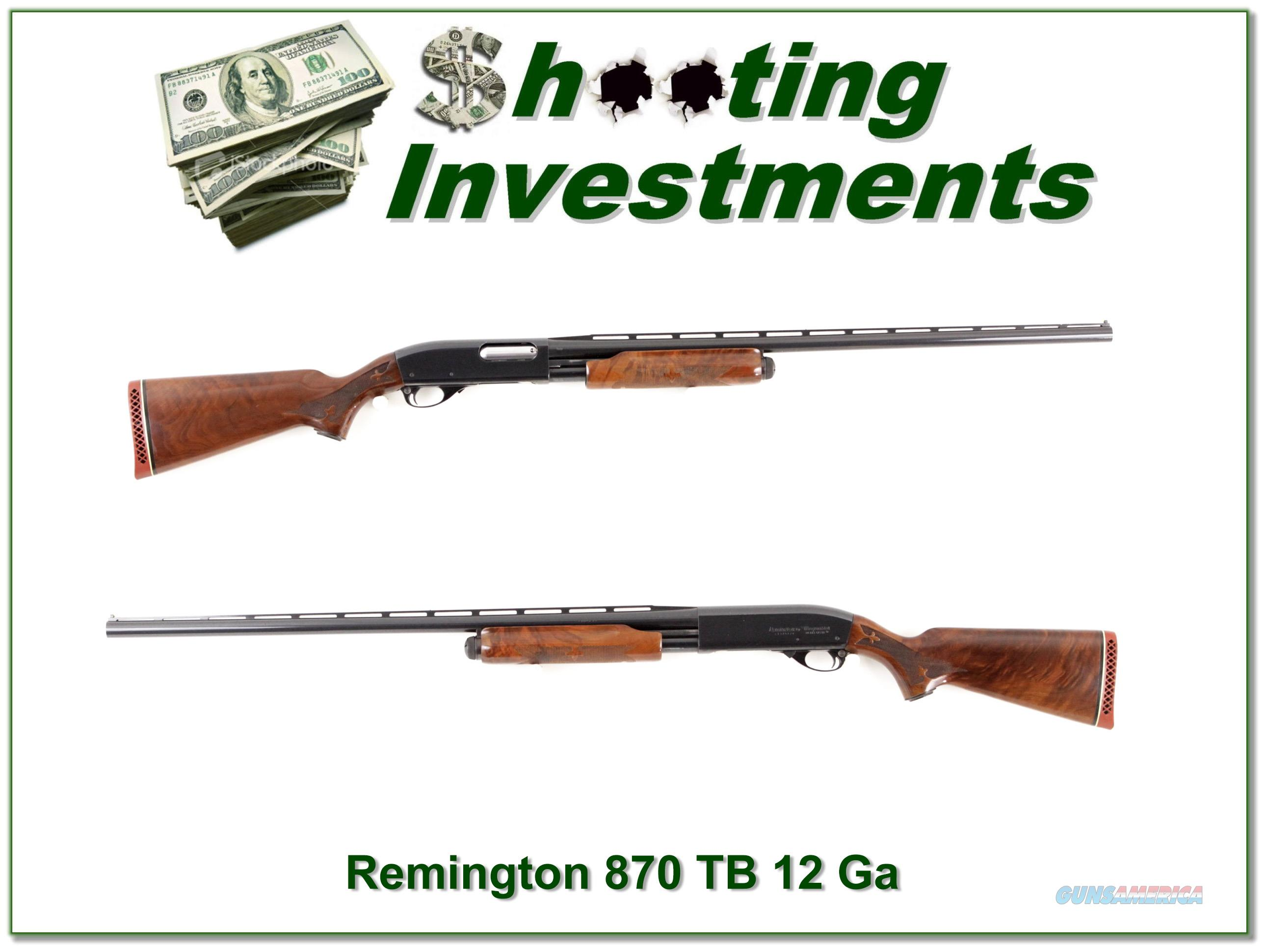 Remington 870 TB 870TB Trap 12 Gauge 30in  Guns > Shotguns > Remington Shotguns  > Pump > Hunting