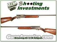 Browning A5 1952 Belgium Exc Cond!  Browning Shotguns > Autoloaders > Hunting