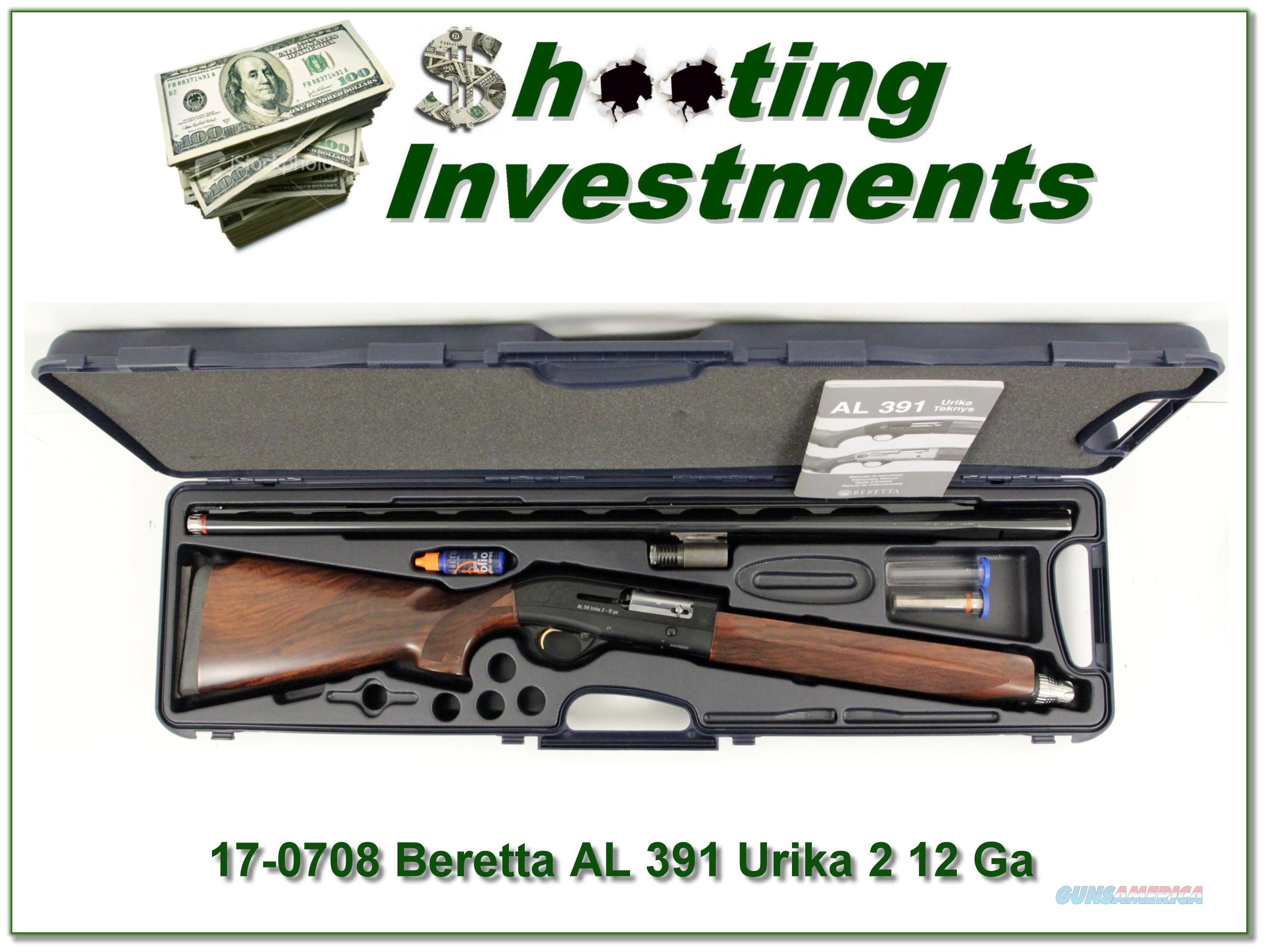 Beretta AL 391 Urika 2 12 Ga 3in Case XX Wood!  Guns > Shotguns > Beretta Shotguns > Autoloaders > Hunting