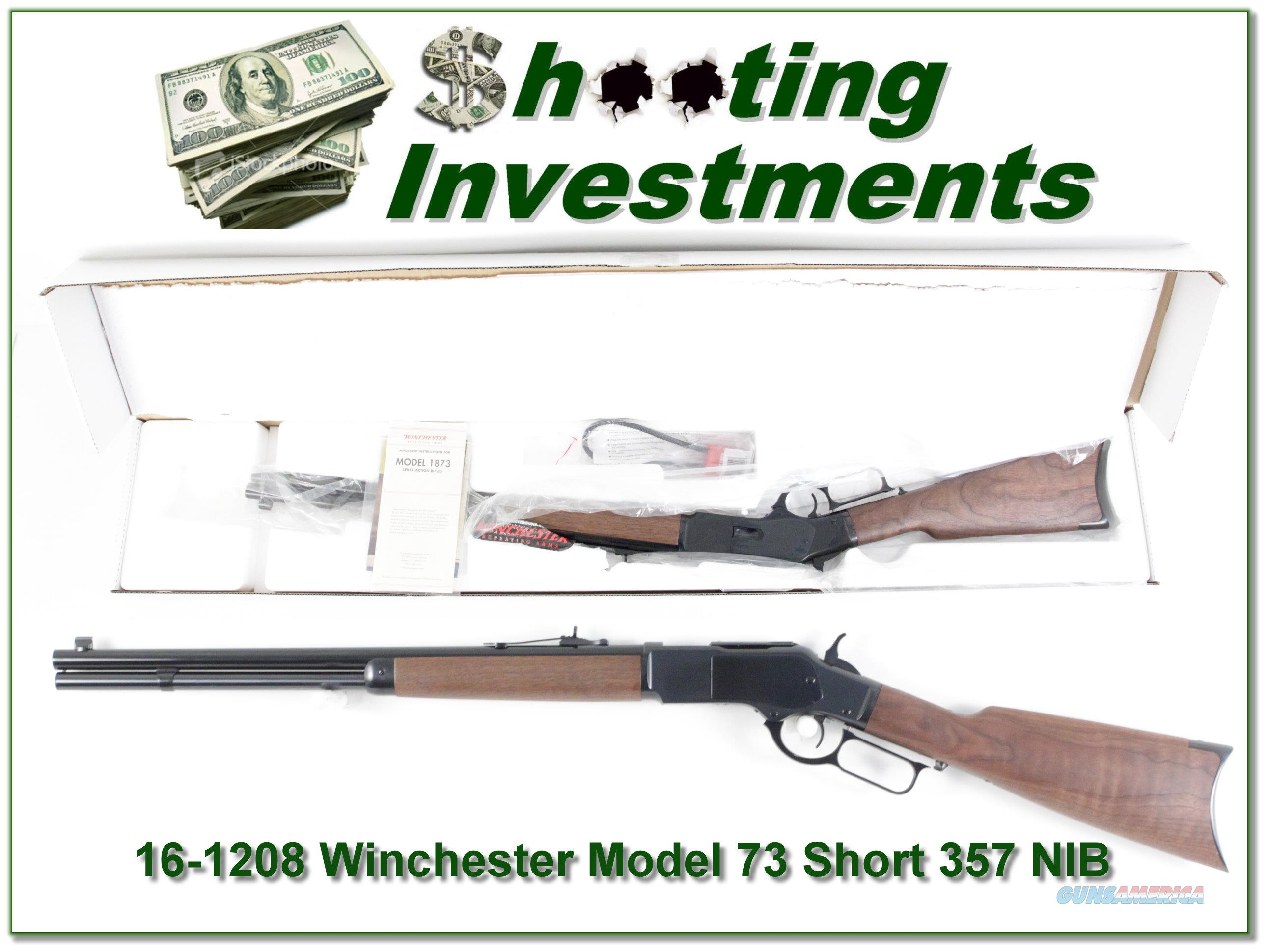 "Winchester 1873 Short Rifle 357 Mag / 38 Spl 20""  Guns > Rifles > Winchester Rifles - Modern Lever > Other Lever > Post-64"
