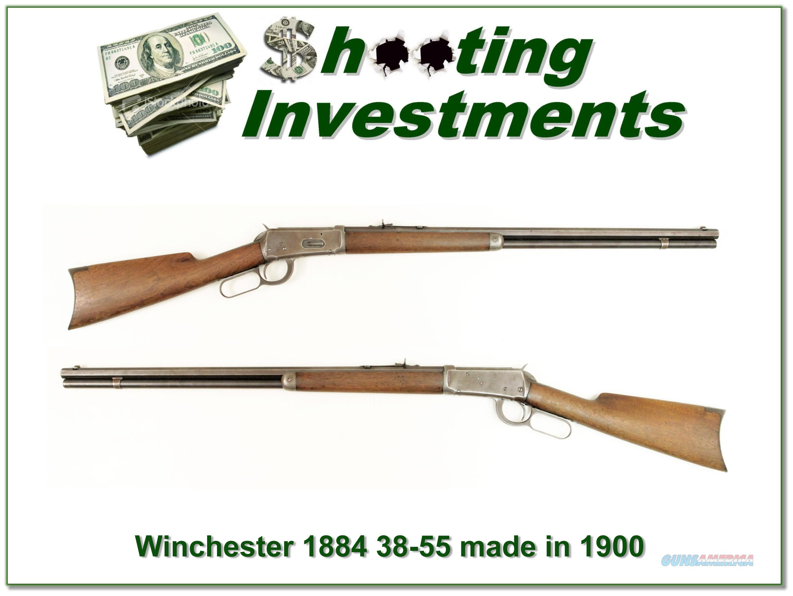 Winchester 1894 38-55 made in 1900!  Guns > Rifles > Winchester Rifles - Modern Lever > Other Lever > Pre-64