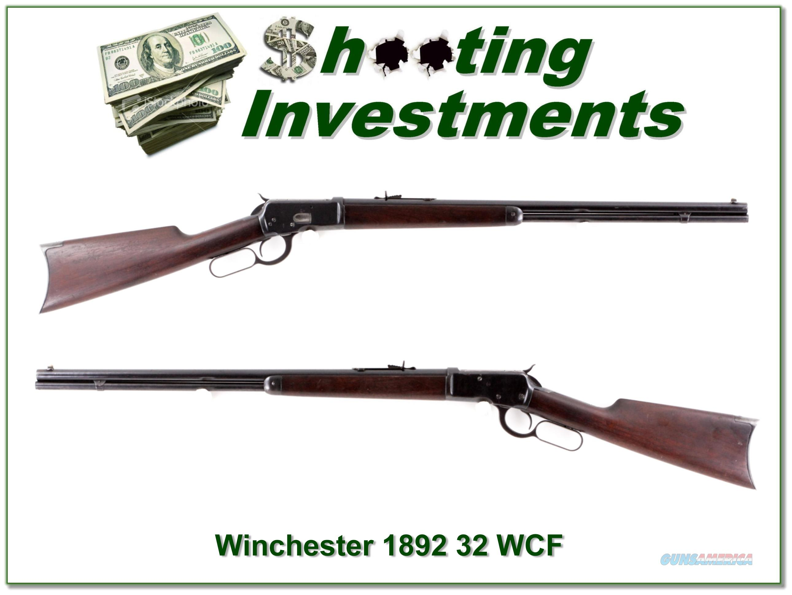 Winchester 1892 32 WCF made in 1908  Guns > Rifles > Winchester Rifles - Modern Lever > Other Lever > Pre-64