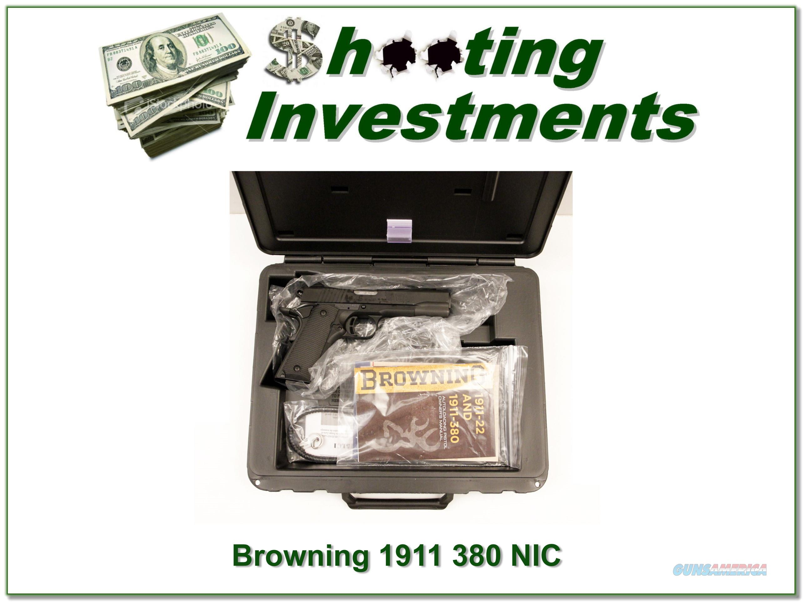 Browning 1911-380 Black Label 380 ACP NIB  Guns > Pistols > Browning Pistols > Other Autos