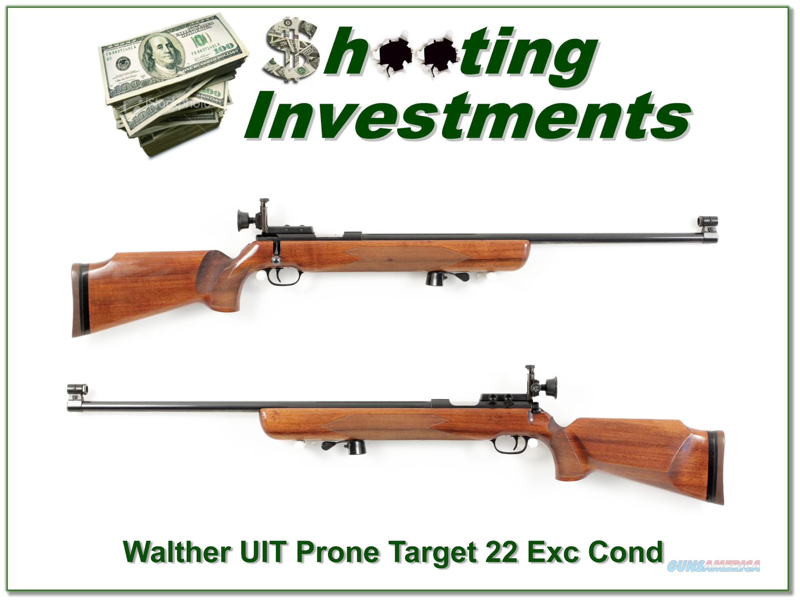 Walther UIT Prone single shot 22LR  Guns > Rifles > Walther Rifles > Umarex