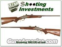 Browning 1885 Low Wall 223 as new!  Browning Rifles > Singe Shot