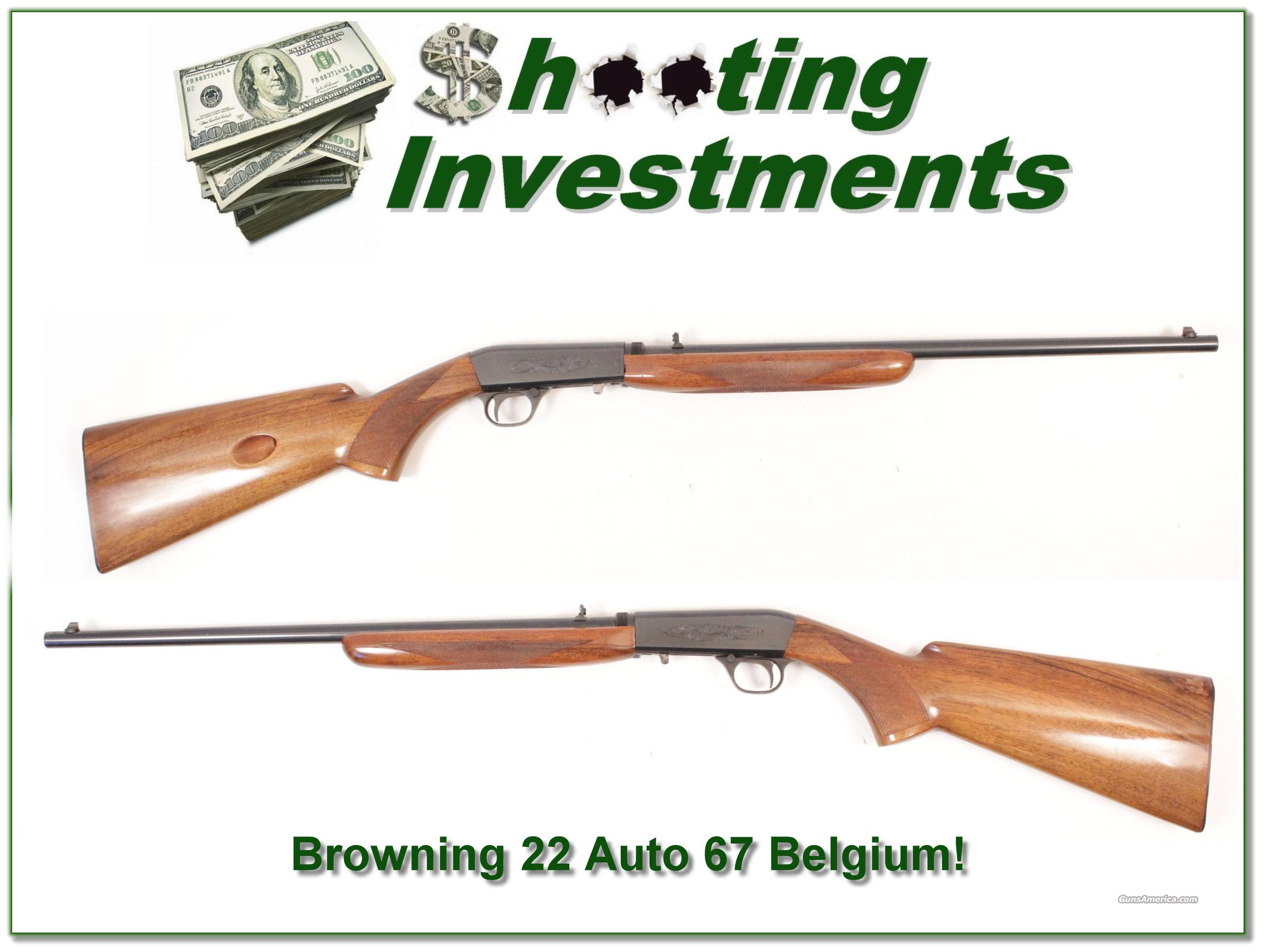 Browning 22 Auto 67 Belgium Takedown  Guns > Rifles > Browning Rifles > Semi Auto > Hunting