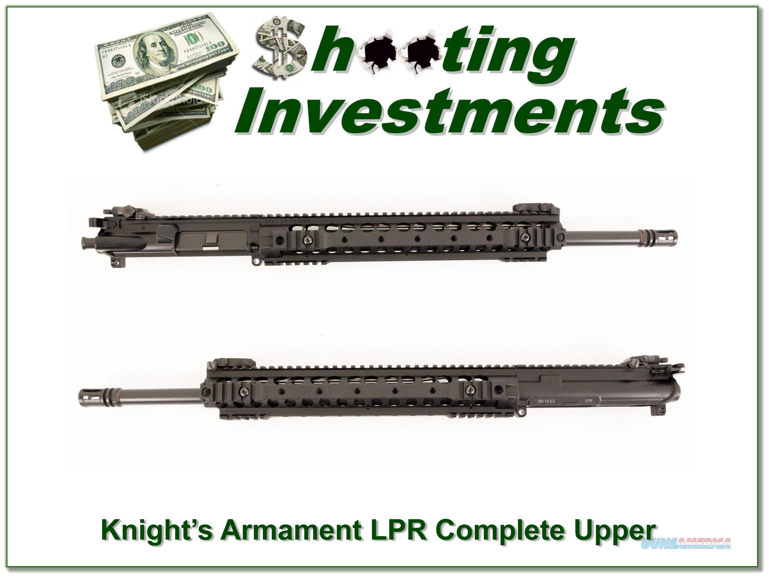 Knight's Armament LPR Complete Upper Receiver  Guns > Rifles > Knight's Manufacturing Rifles