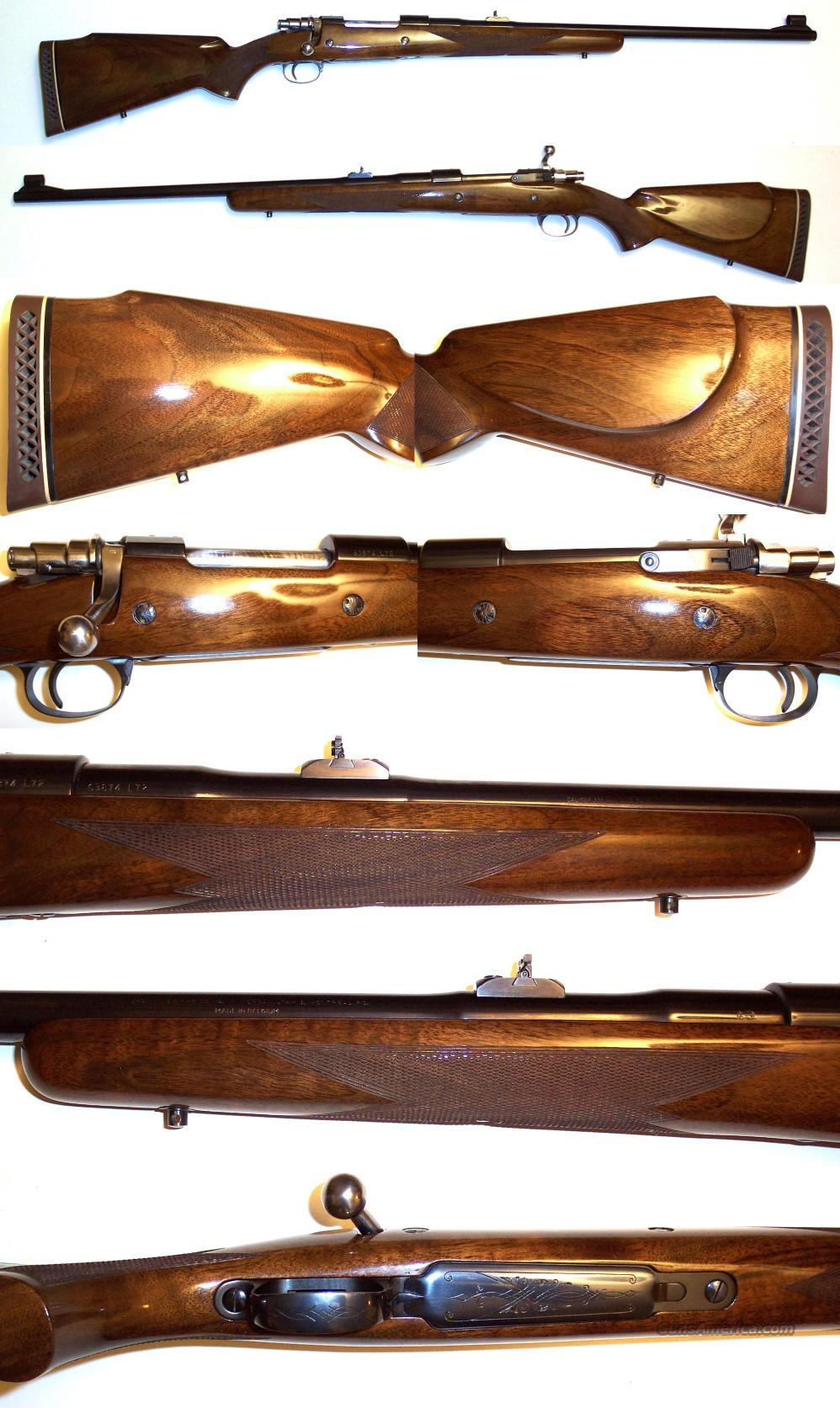 '72 Belgium Browning Safari Grade 300 Win  Guns > Rifles > Browning Rifles > Bolt Action > Hunting > Blue