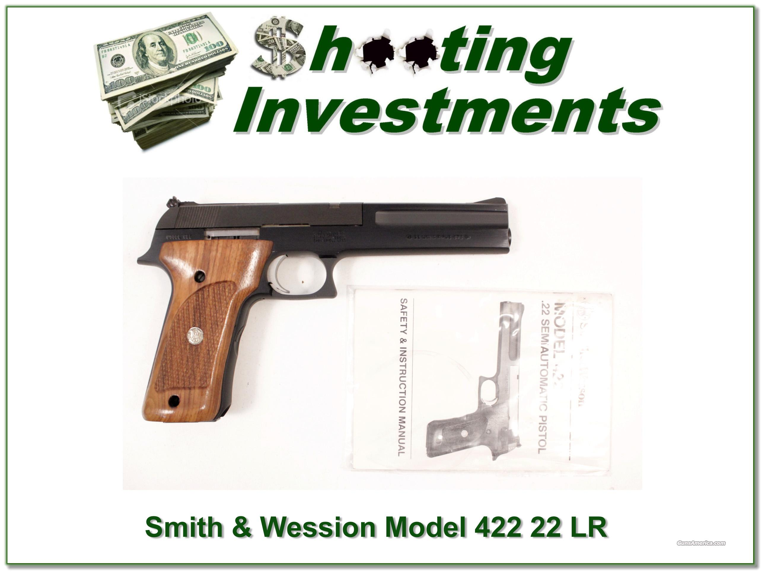 Smith &Wesson Model 422 22 LR  Guns > Pistols > Smith & Wesson Pistols - Autos > .22 Autos