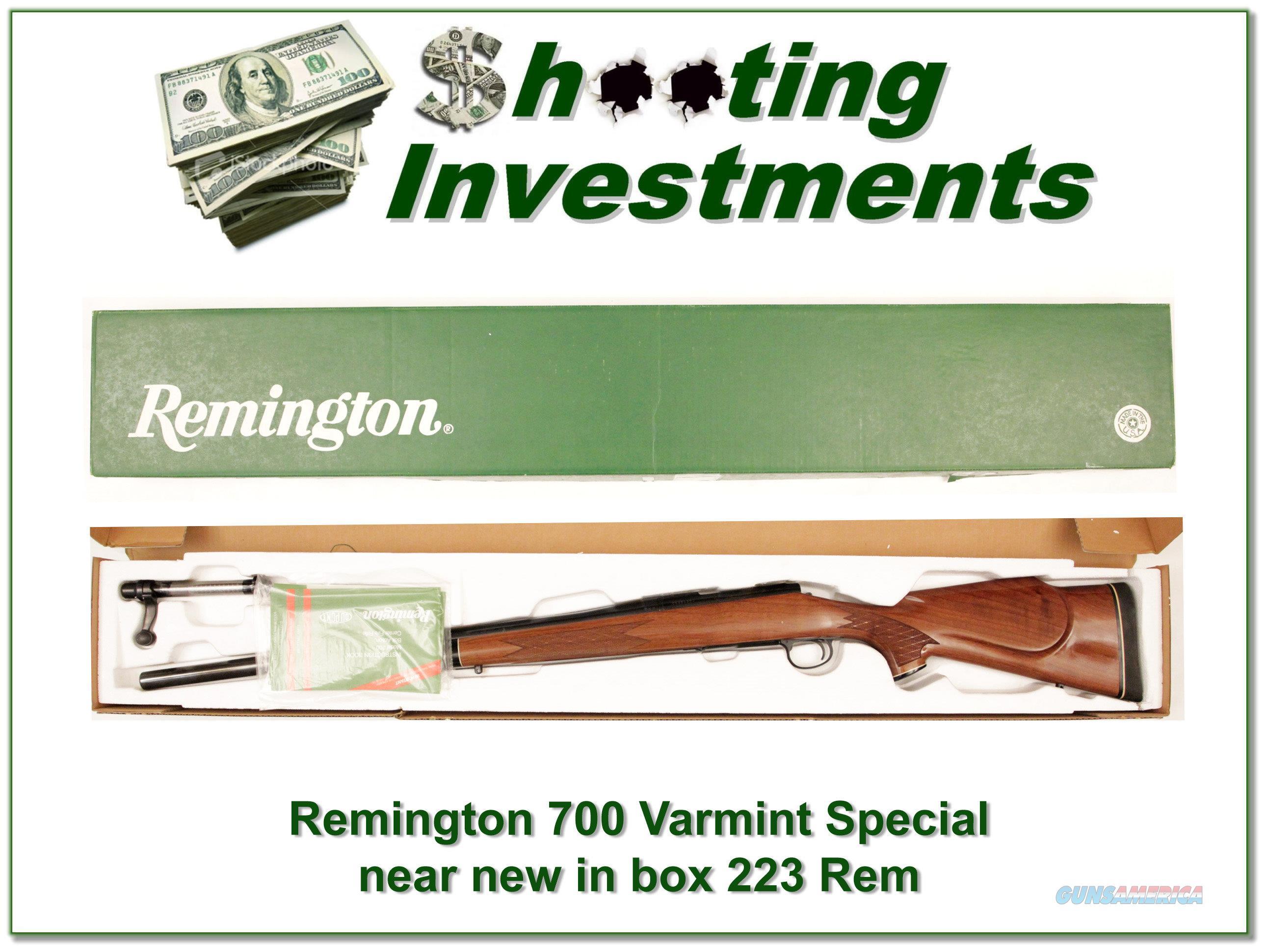 Magnum Insurance Near Me >> Remington 700 Varmint Special 223 Remington! for sale