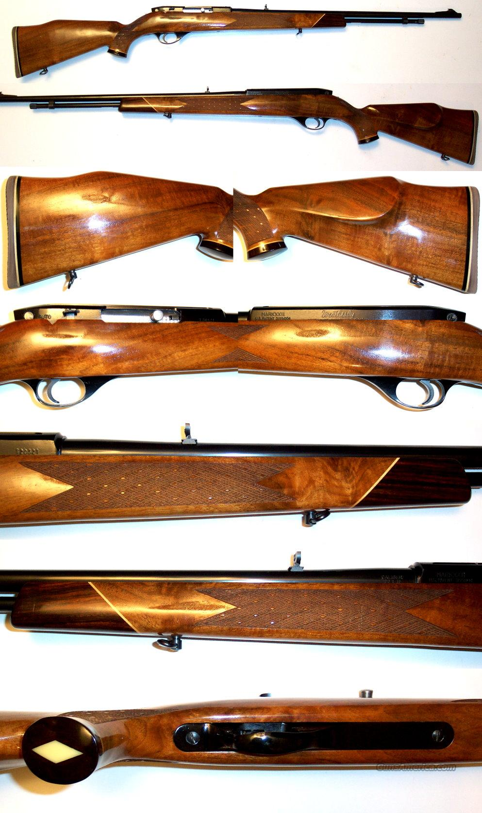 Weatherby XXII Tube 22 auto in near new condition  Guns > Rifles > Weatherby Rifles > Sporting