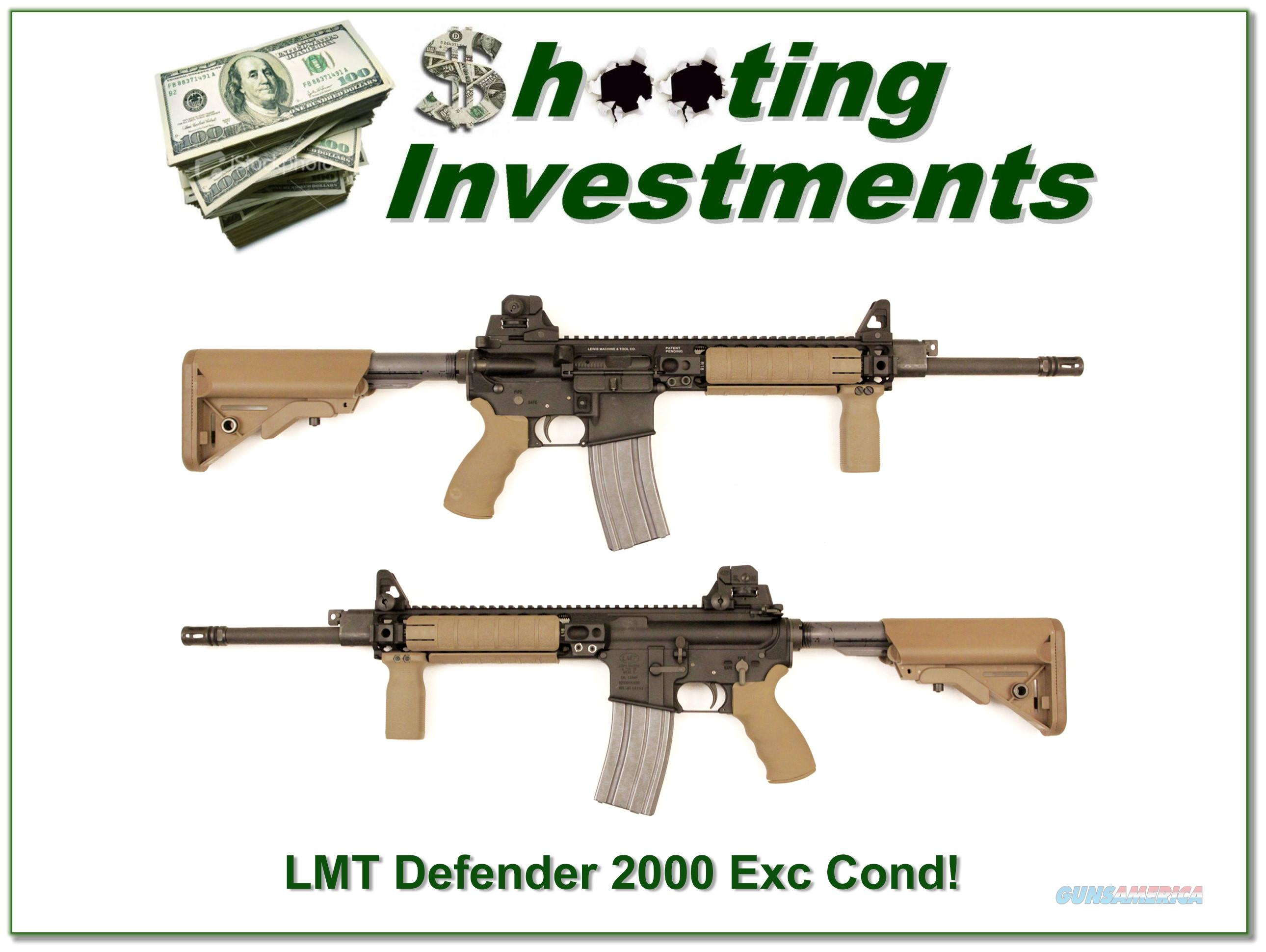 LMT Lewis Machine and Tool Defender 2000 near new!  Guns > Rifles > L Misc Rifles