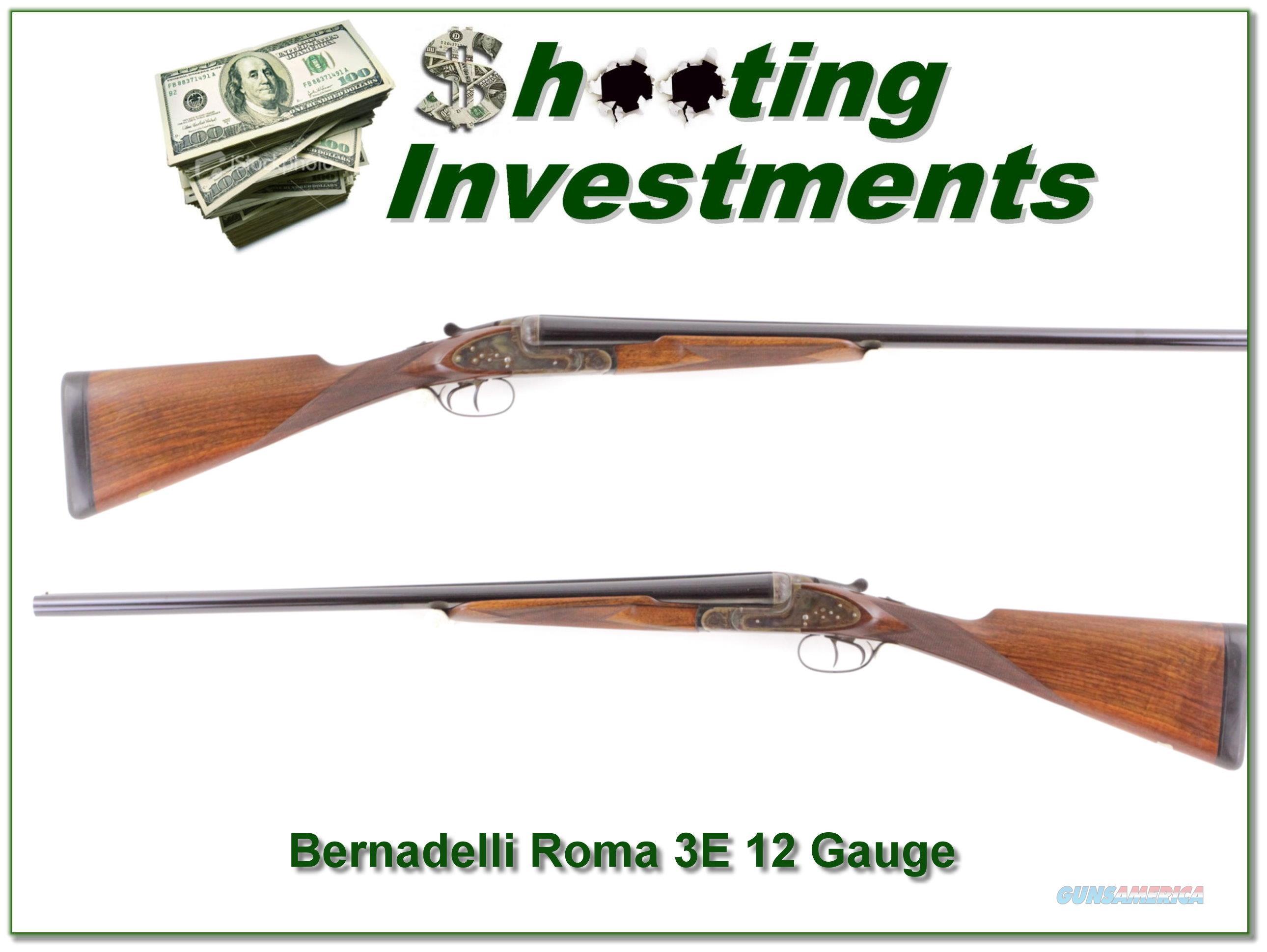 Bernadelli Roma 3E 12 Gauge  Guns > Shotguns > B Misc Shotguns