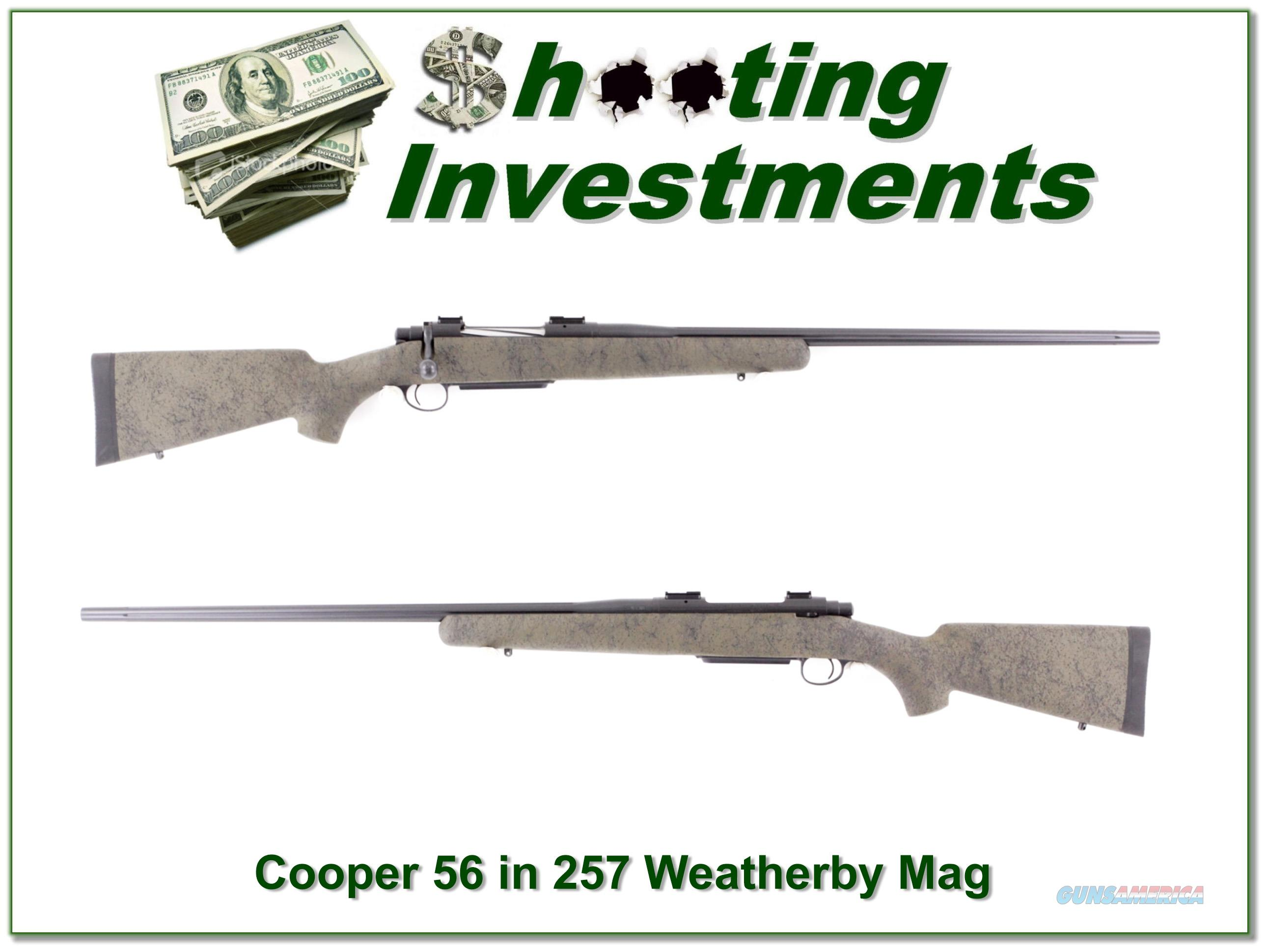 Cooper Model 56 in 257 Weatherby Magnum  Guns > Rifles > Cooper Arms Rifles