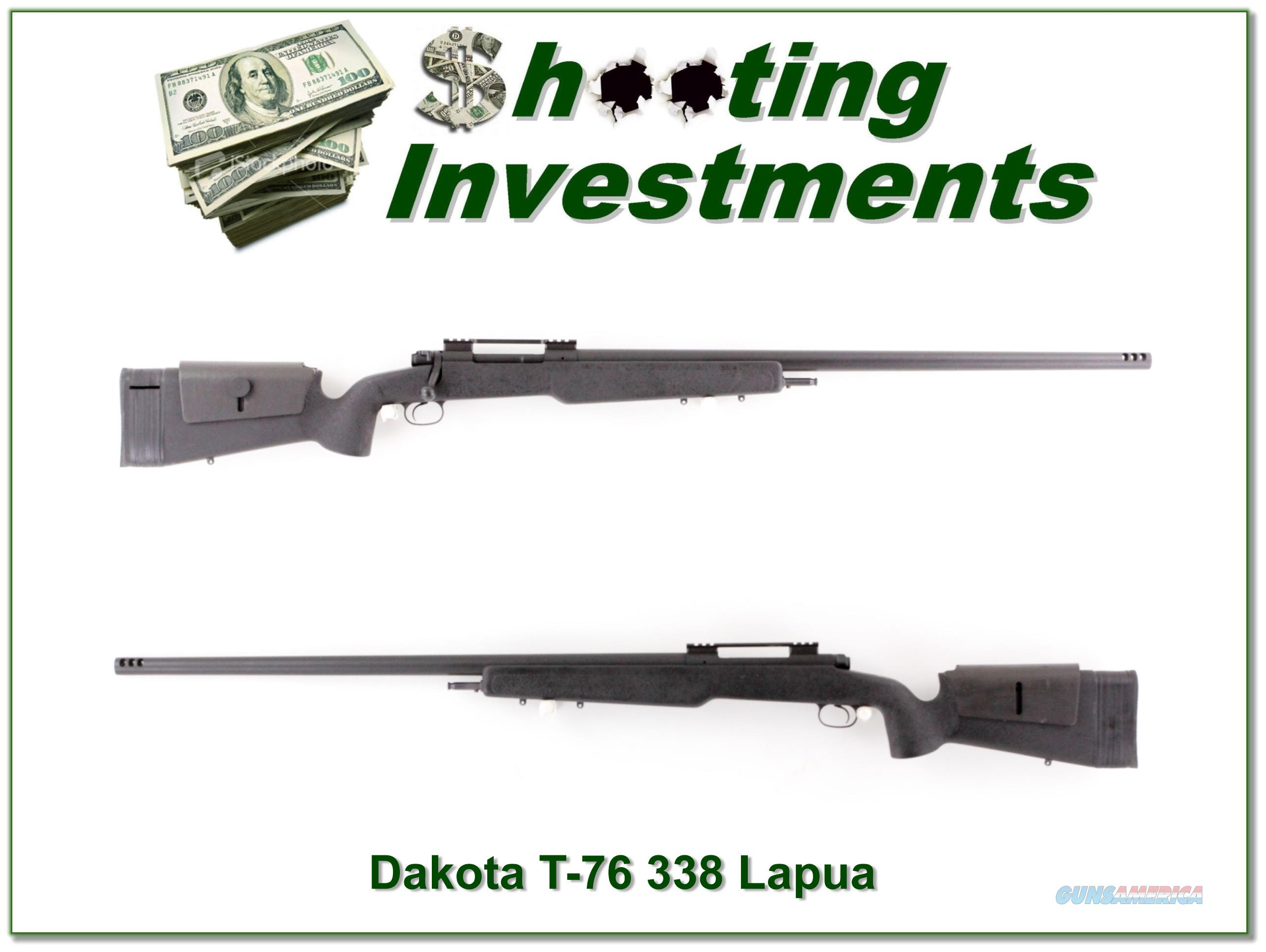 Dakota T-76 Longbow hard to find and early 338 Lapua  Guns > Rifles > Dakota Arms Rifles