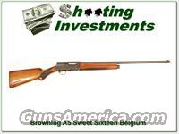 Browning A5 Sweet Sixteen '55 Belgium  Guns > Shotguns > Browning Shotguns > Autoloaders > Hunting