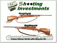 Voere Shikar .30-06 Bolt Action with Weaver  Guns > Rifles > Voere Rifles