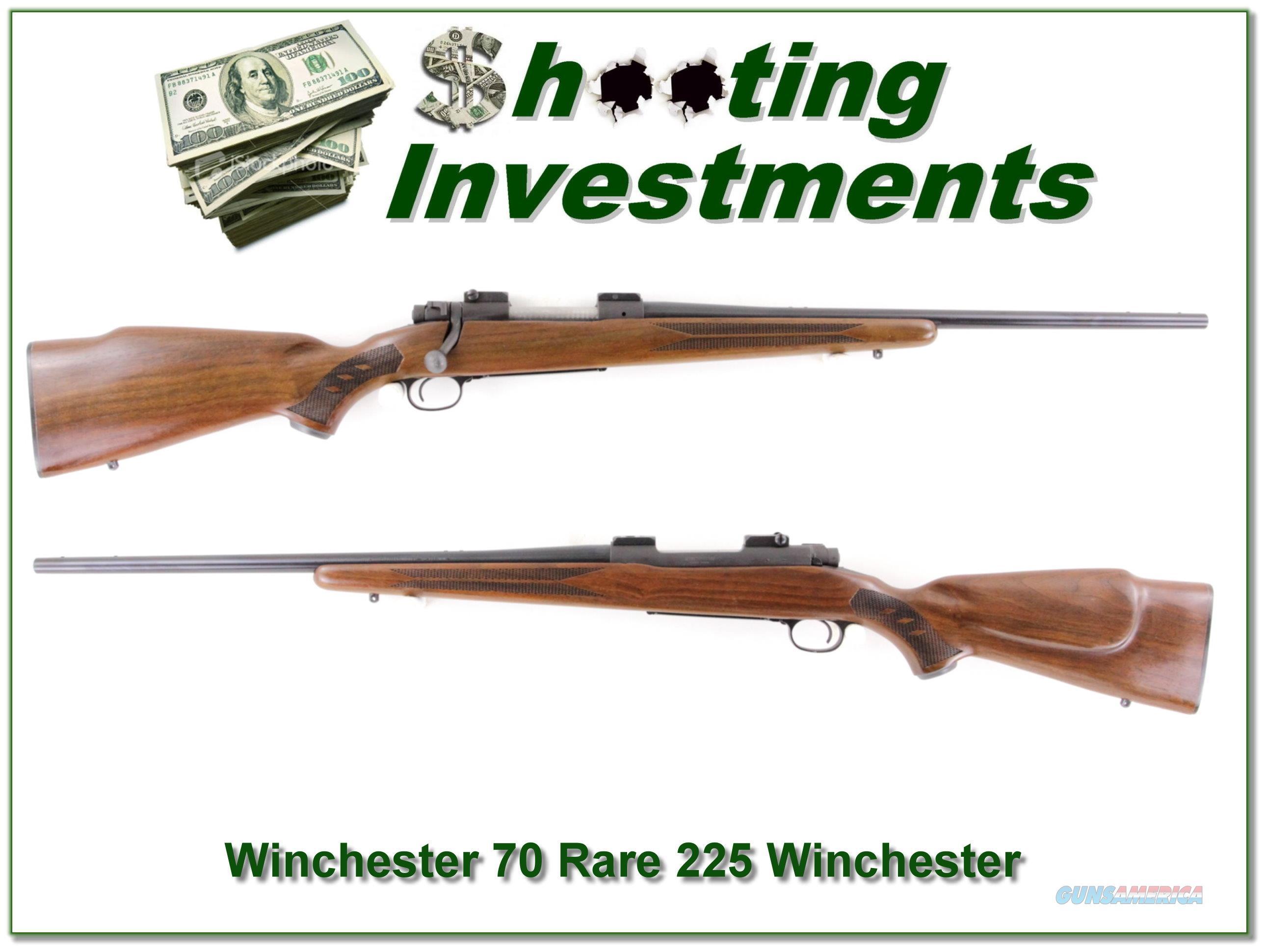 Winchester 70 rare 225 Winchester 1965  Guns > Rifles > Winchester Rifles - Modern Bolt/Auto/Single > Model 70 > Post-64