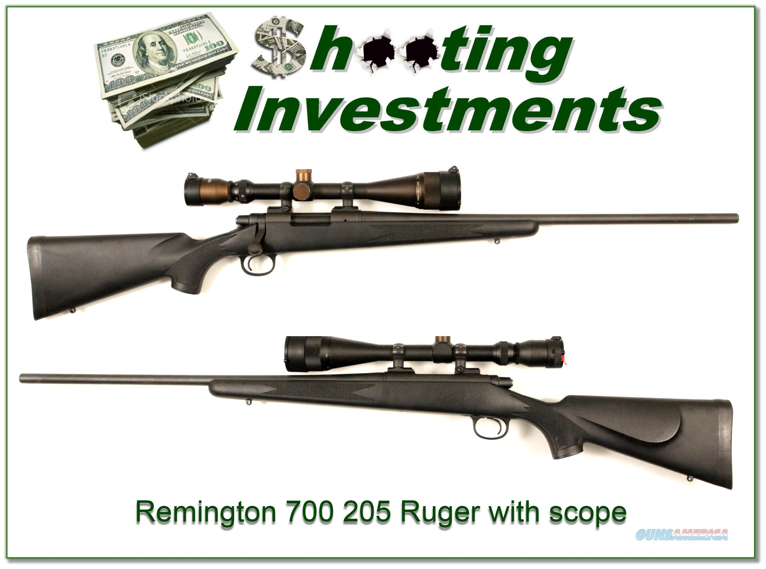 Remington Model 700 204 Ruger with scope  Guns > Rifles > Remington Rifles - Modern > Model 700 > Sporting