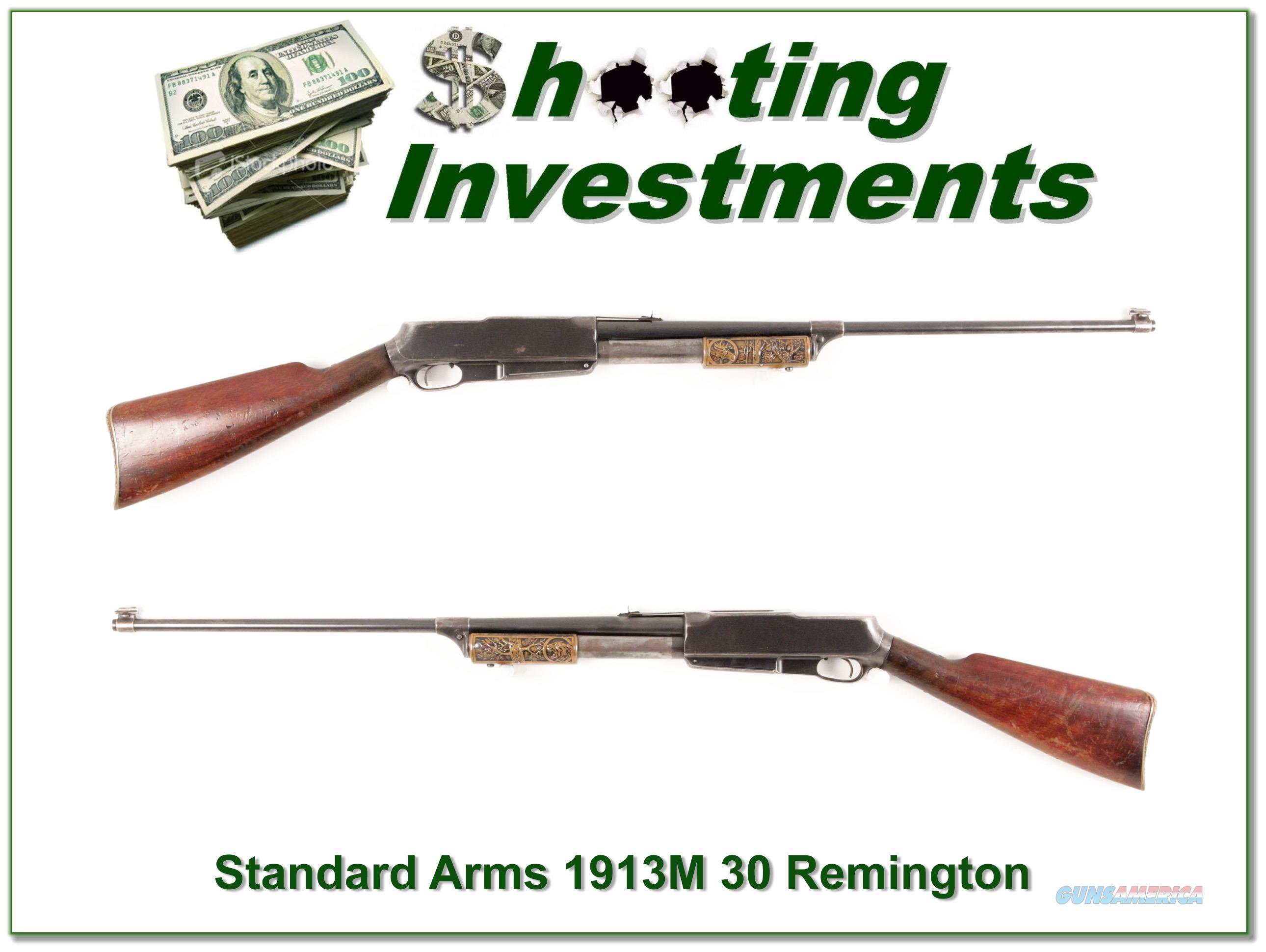 Standard Arms 1913M 30 Remington with 2 boxes ammo  Guns > Rifles > S Misc Rifles