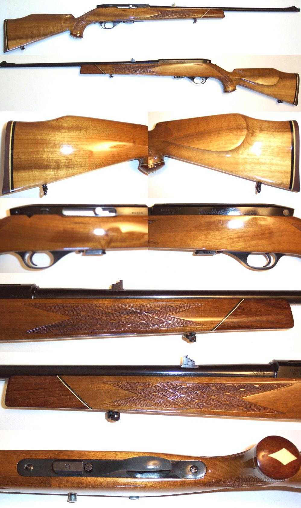 Weatherby XXII Italian in rare blond wood  Guns > Rifles > Weatherby Rifles > Sporting