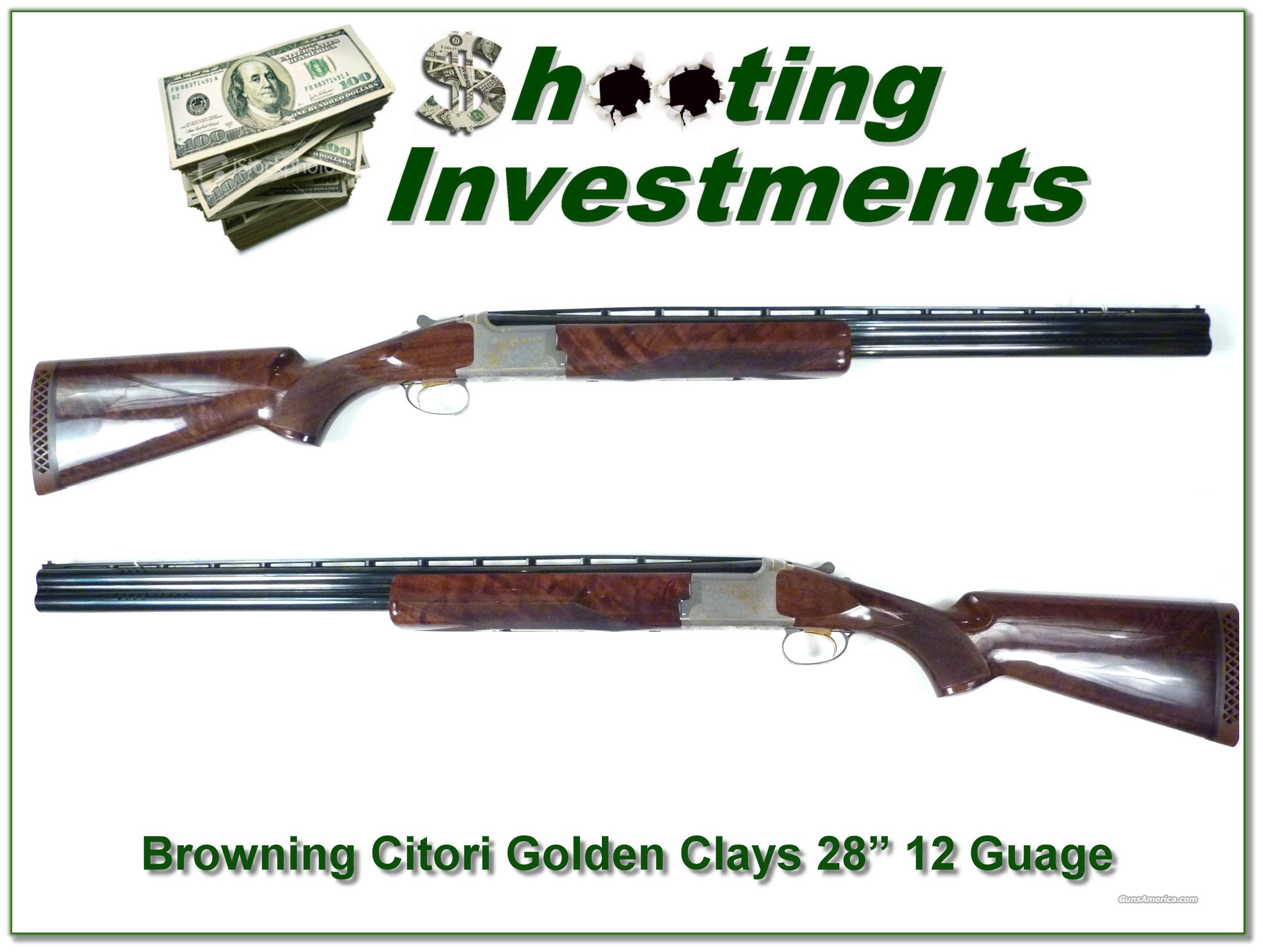 "Browning Citori Golden Clays 28"" 12 Guage  Guns > Shotguns > Browning Shotguns > Over Unders > Citori > Hunting"