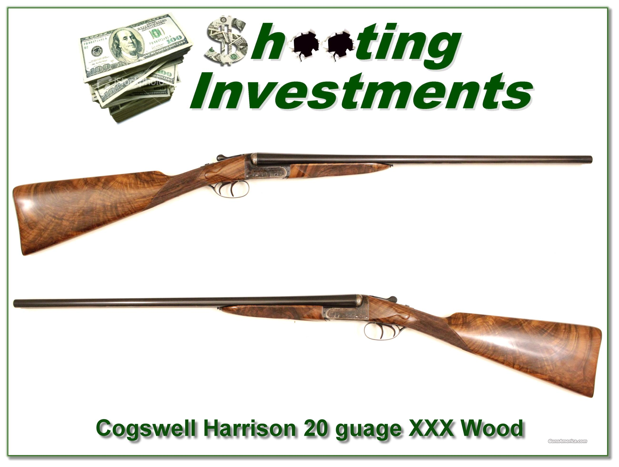 Cogswell & Harrison 20 gauge XXX Exhibition Wood!  Guns > Shotguns > A Misc Shotguns