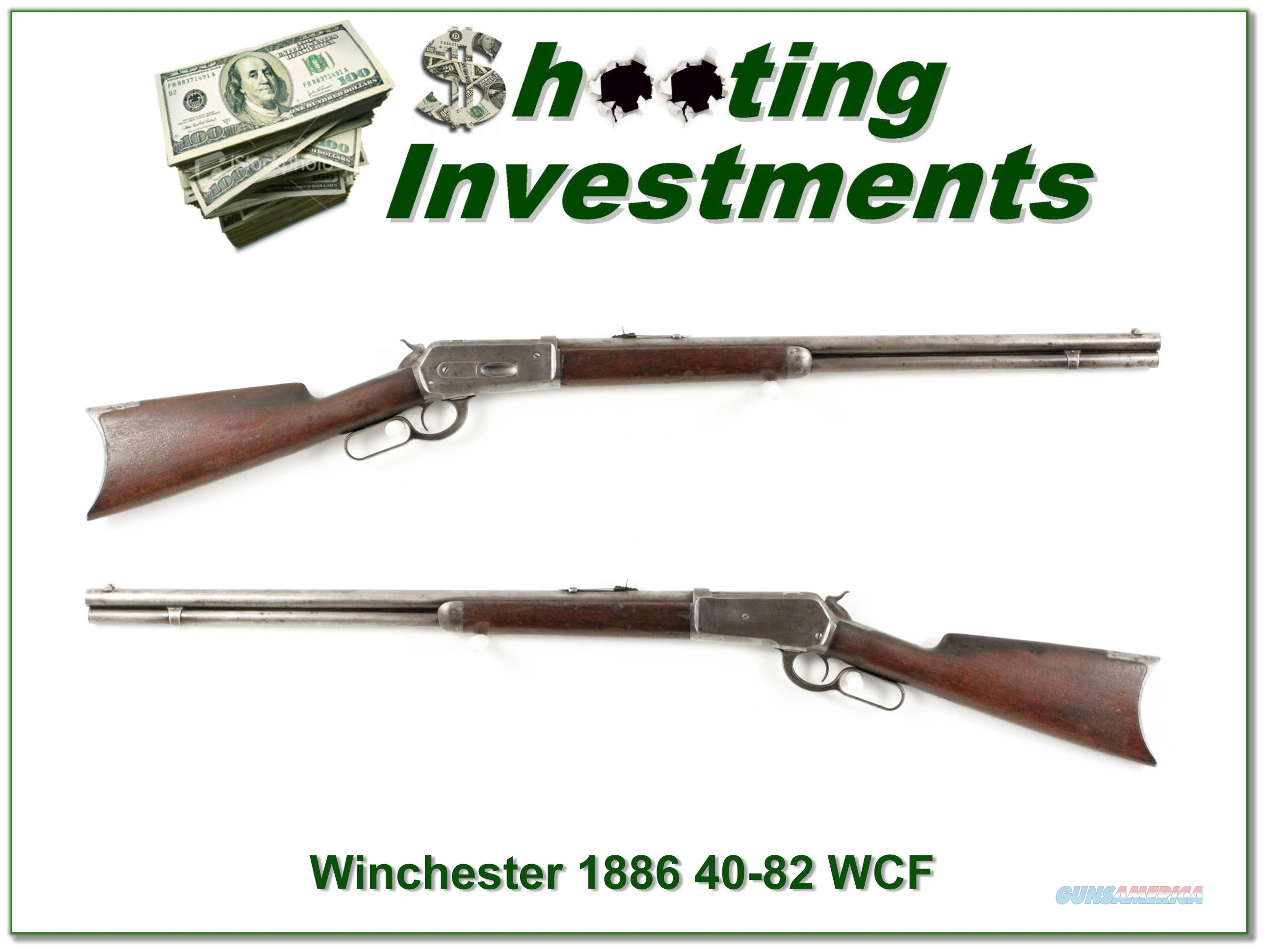 Winchester 1886 made in 1888 rare 40-82 WCF  Guns > Rifles > Winchester Rifles - Modern Lever > Other Lever > Pre-64