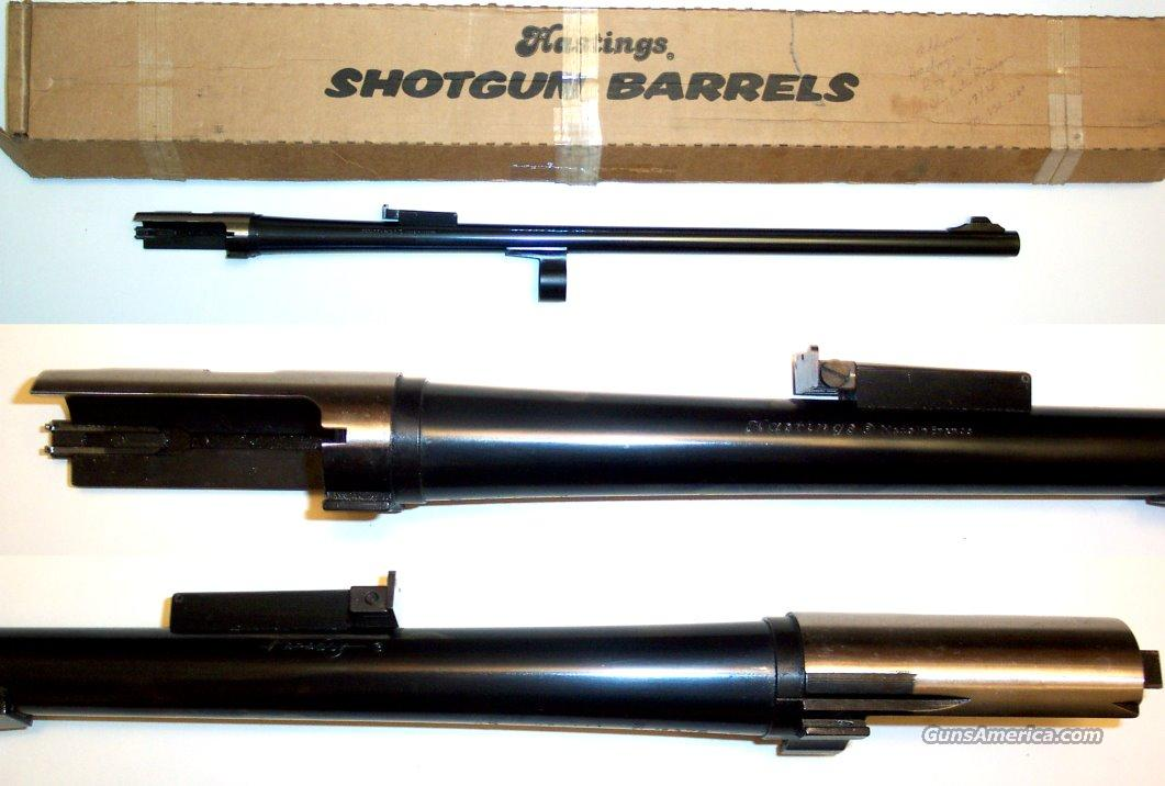 Browning A5 rifled slug barrel as new  Non-Guns > Barrels