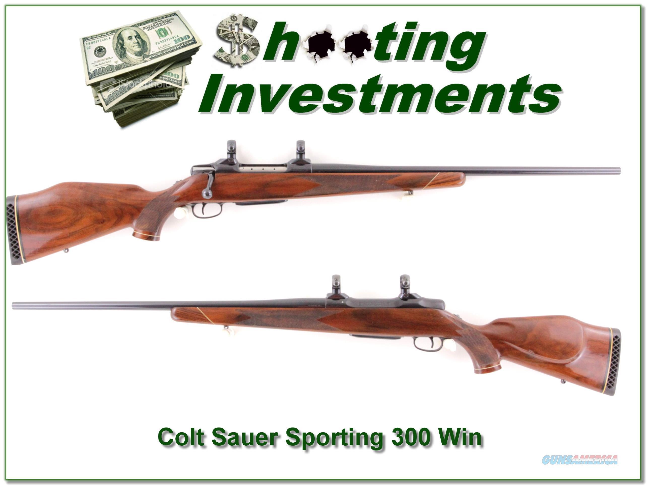 Colt Sauer Sporting rifle in 300 Win Mag  Guns > Rifles > Colt Rifles - Non-AR15 Modern Rifles