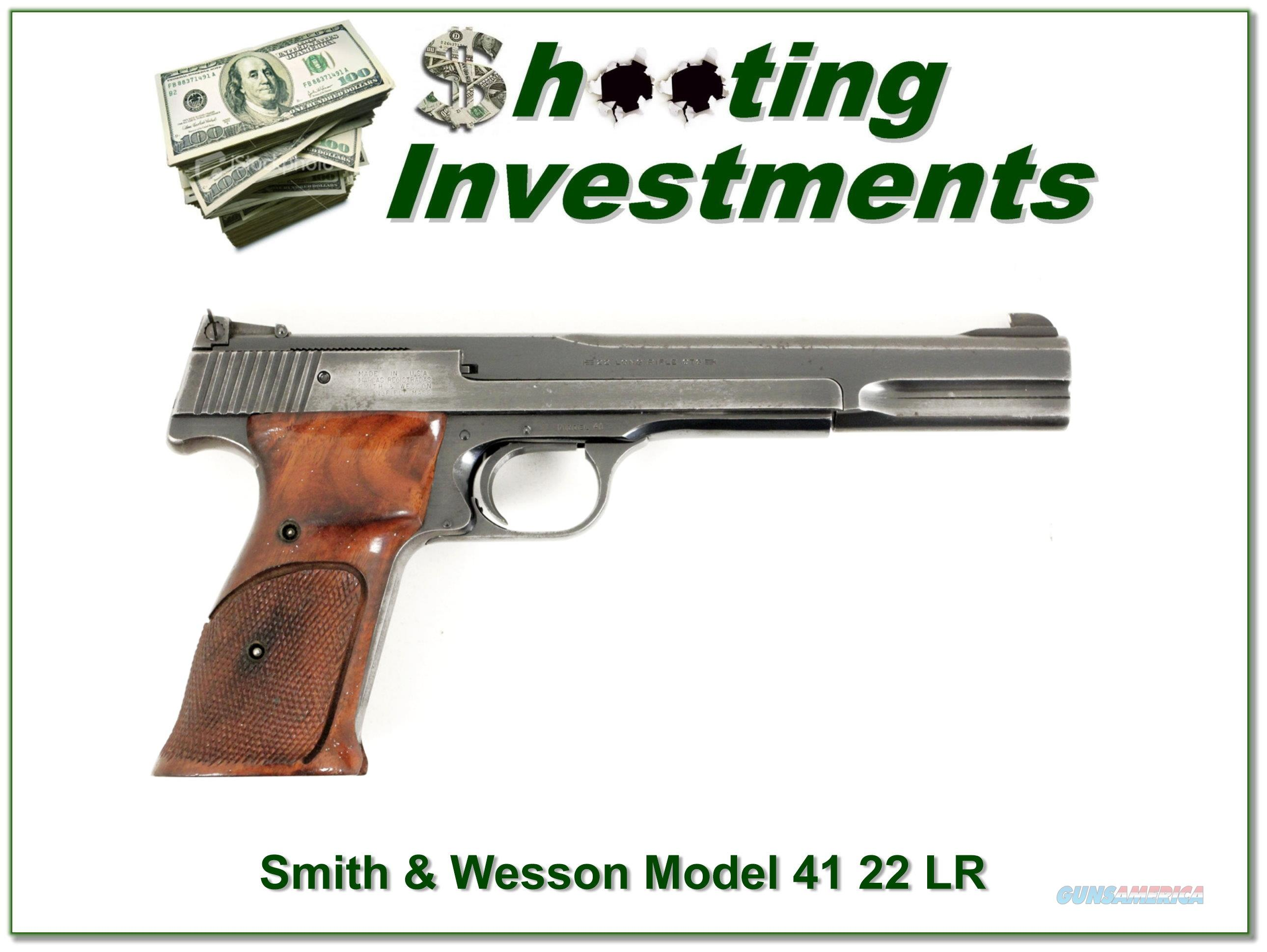 Smith & Wesson Model 41 7in   Guns > Pistols > Smith & Wesson Pistols - Autos > .22 Autos