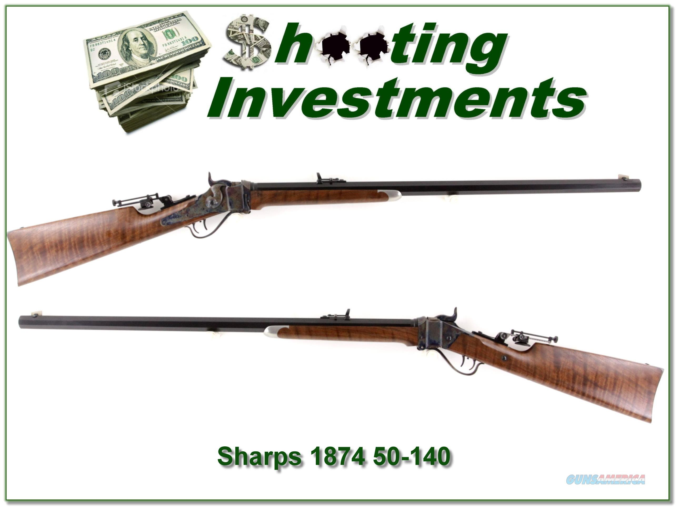 C. Sharps 1874 heavy barrel Hartford collar 50-140  Guns > Rifles > Sharps Rifles - Replica
