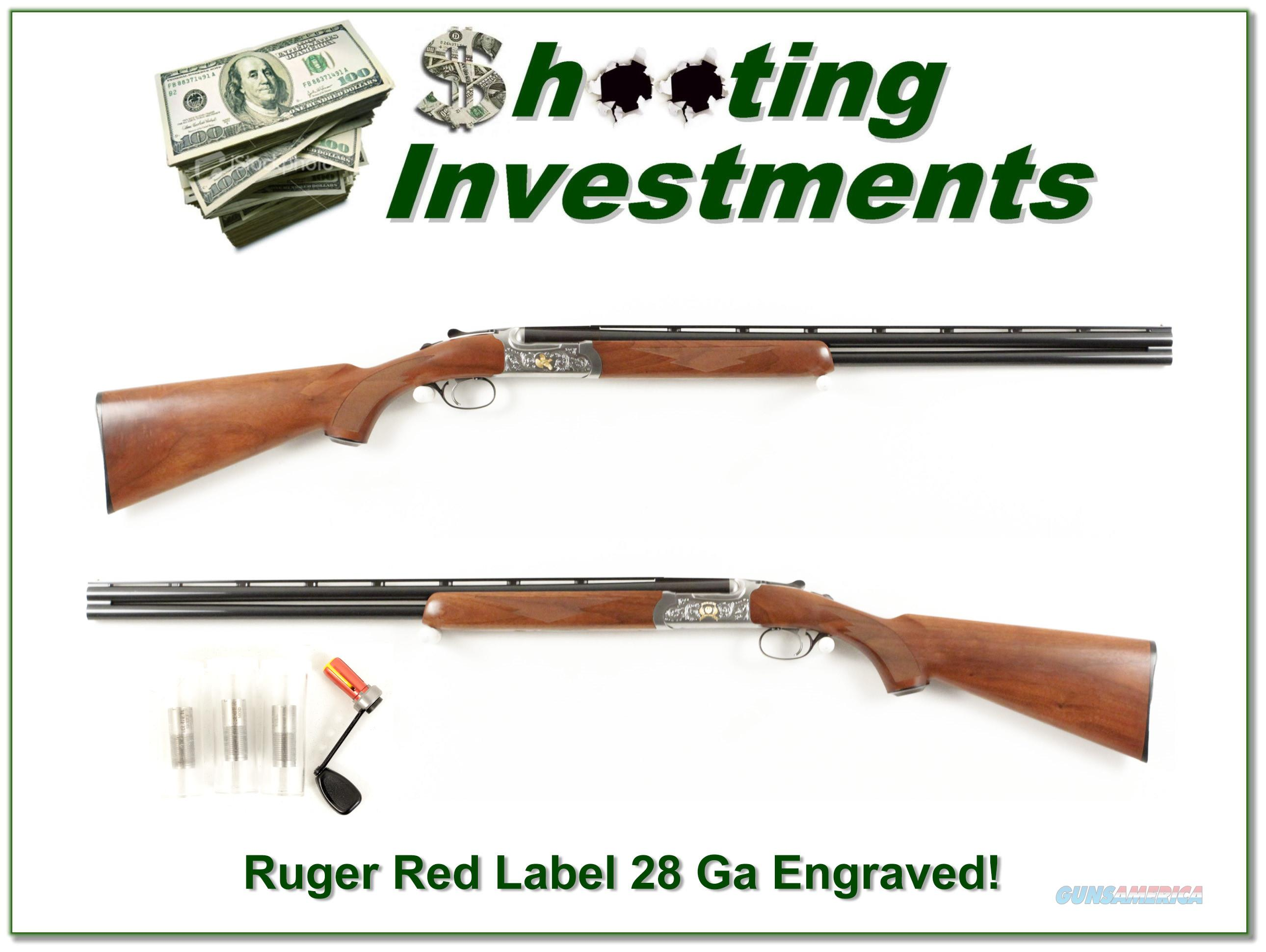 Ruger Red Label 50th Anniversary 28 Gauge!  Guns > Shotguns > Ruger Shotguns > Hunting