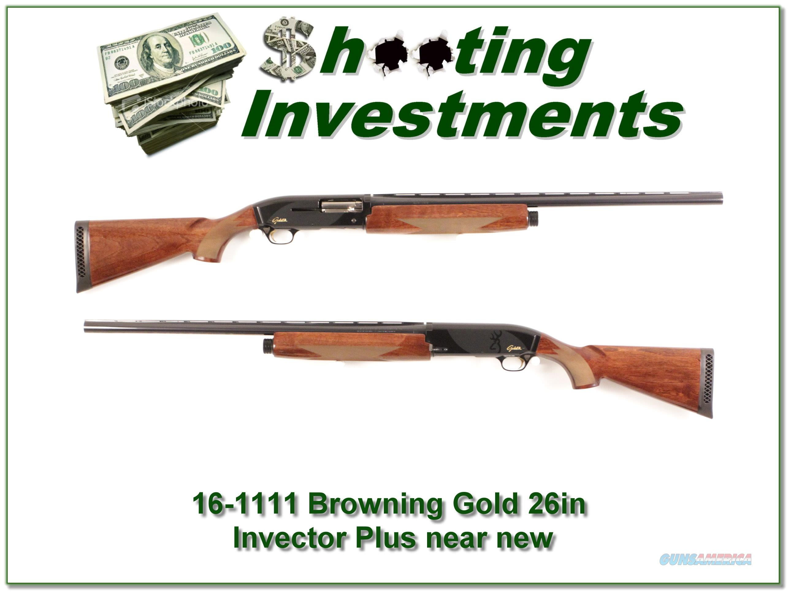 Browning 12ga Gold SL Super Lite Semi Auto Shotgun  Guns > Shotguns > Browning Shotguns > Autoloaders > Hunting
