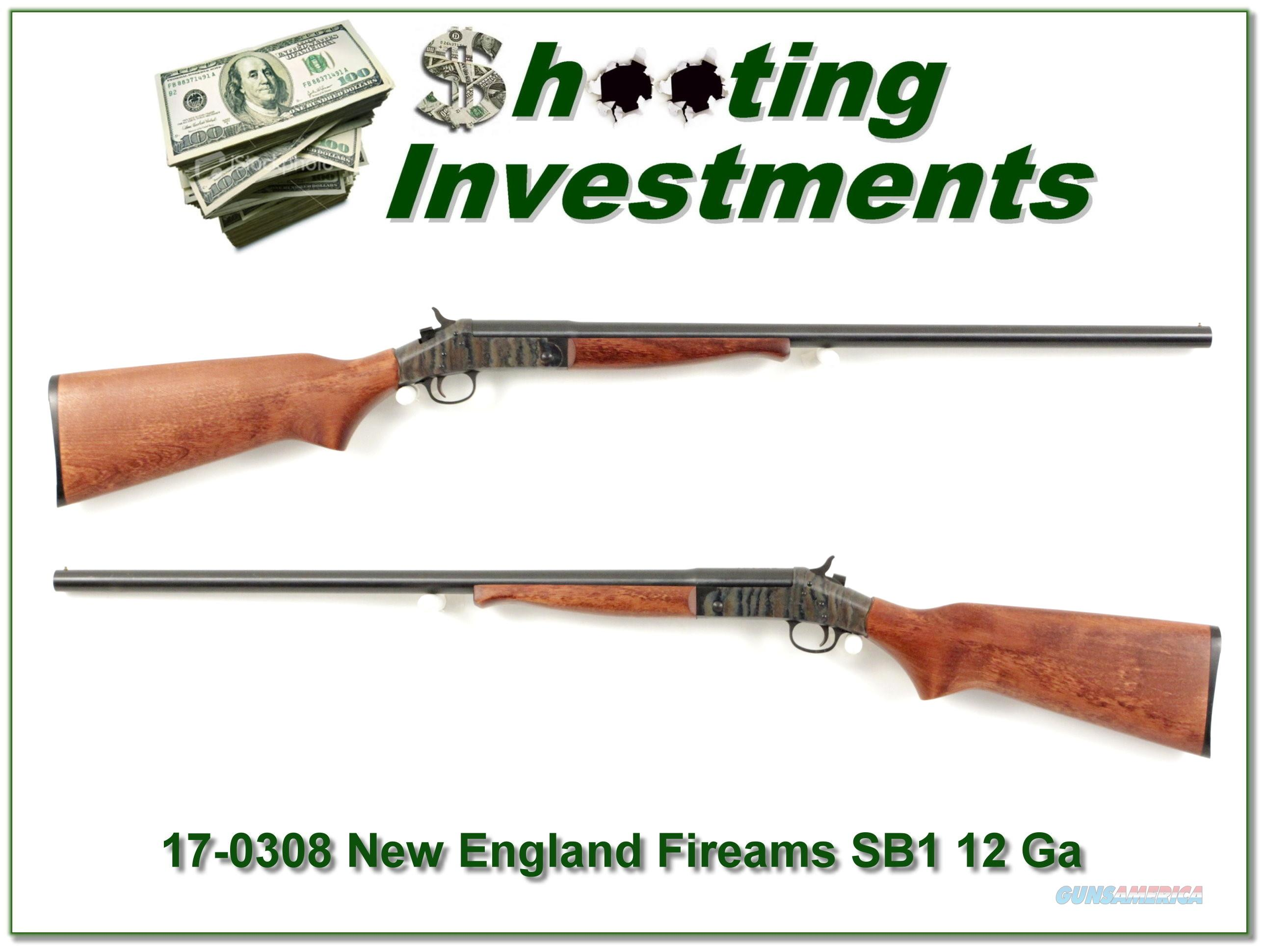 New England Firearms Partner SB1 12 Ga 3in 28in Mod  Guns > Shotguns > New England Firearms (NEF) Shotguns