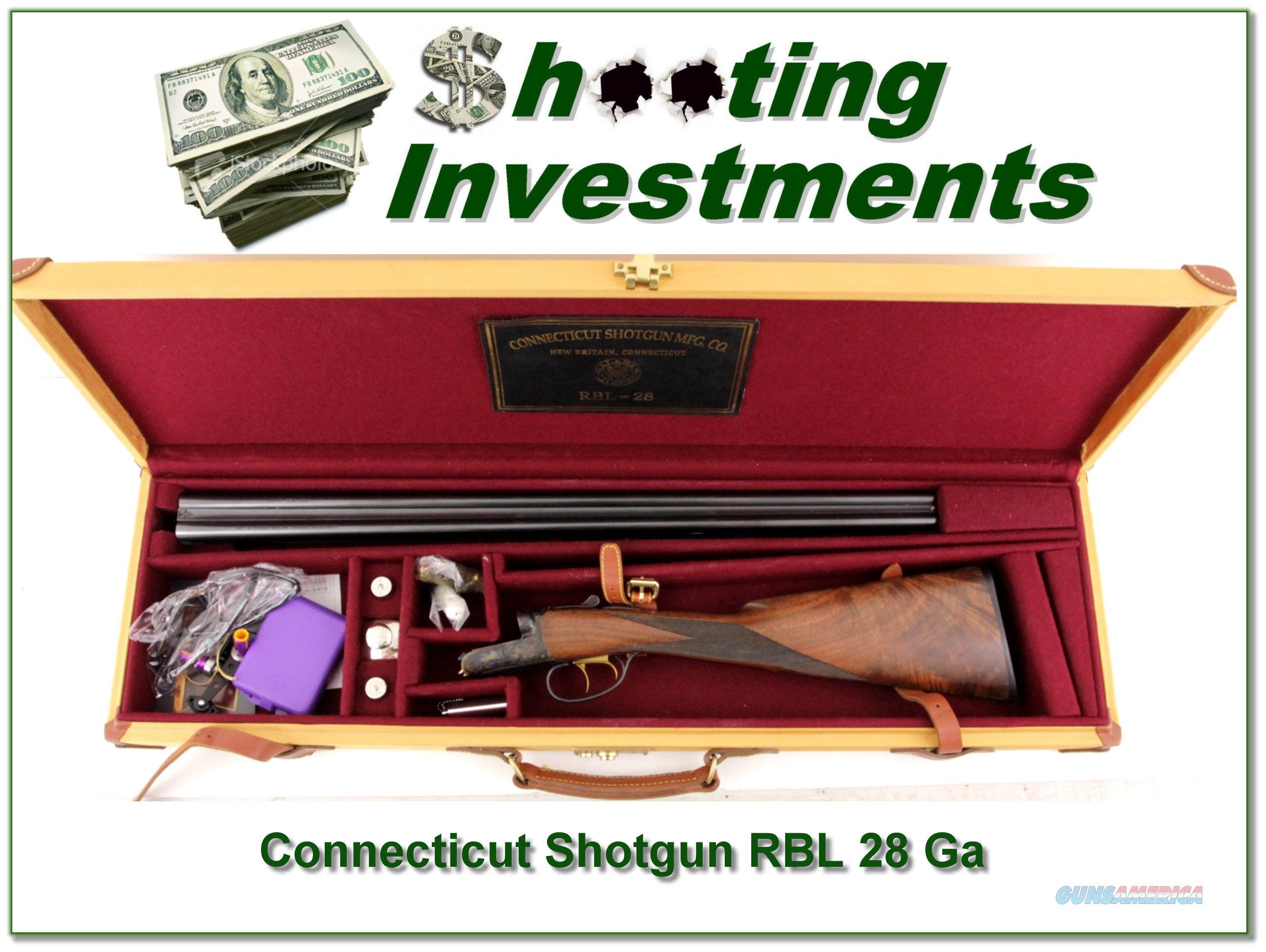 Connecticut Shotgun RBL 28 Ga in case  Guns > Shotguns > Connecticut (Galazan) Shotguns