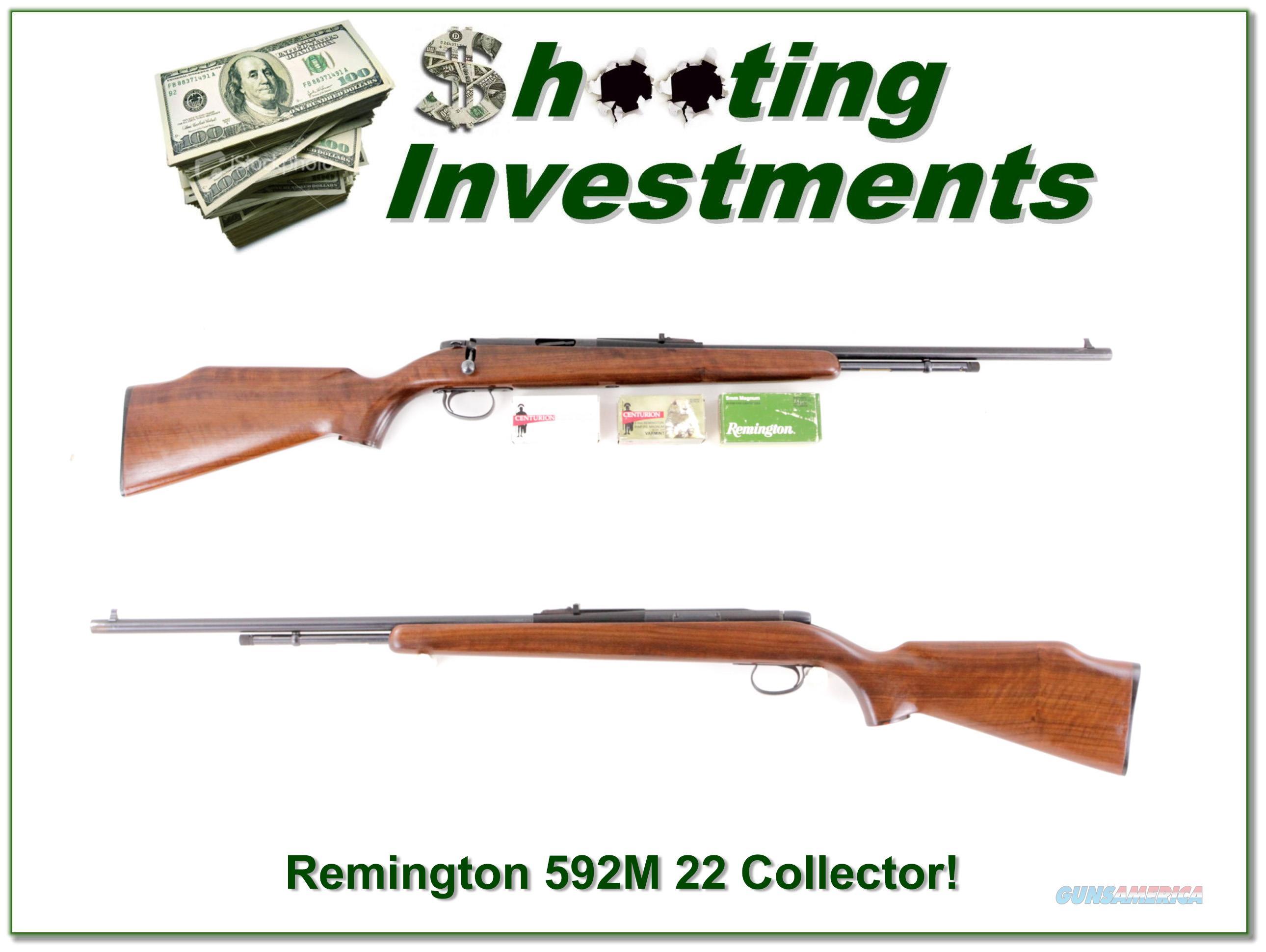 Remington 592M 5mm Remington Magnum!  Guns > Rifles > Remington Rifles - Modern > .22 Rimfire Models