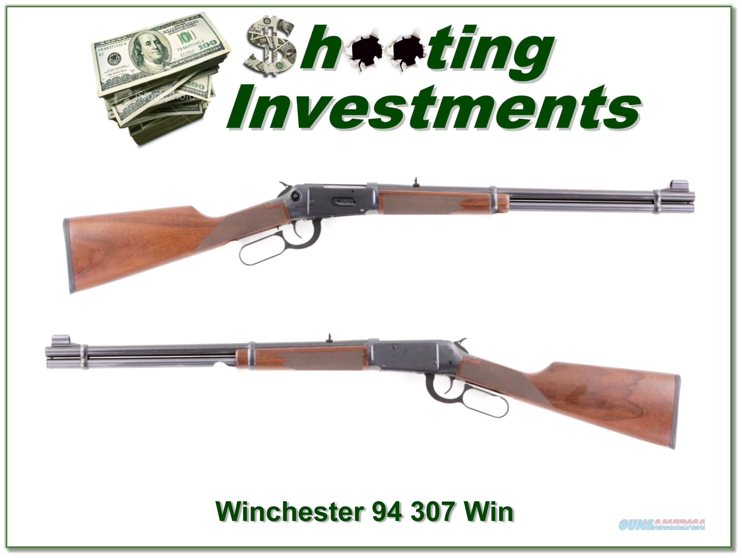 Winchester 94AE in 307 Winchester as new!  Guns > Rifles > Winchester Rifles - Modern Lever > Model 94 > Post-64