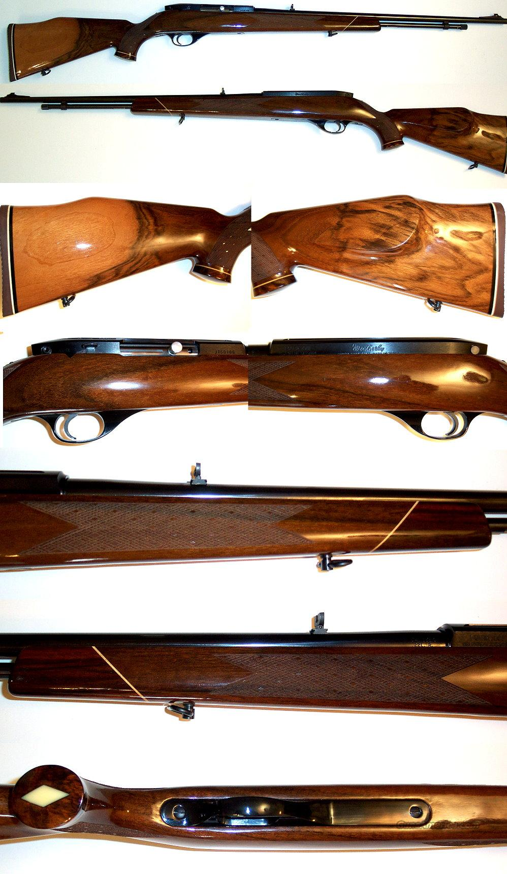 Weatherby XXII Tube 22 auto like new, super wood  Guns > Rifles > Weatherby Rifles > Sporting